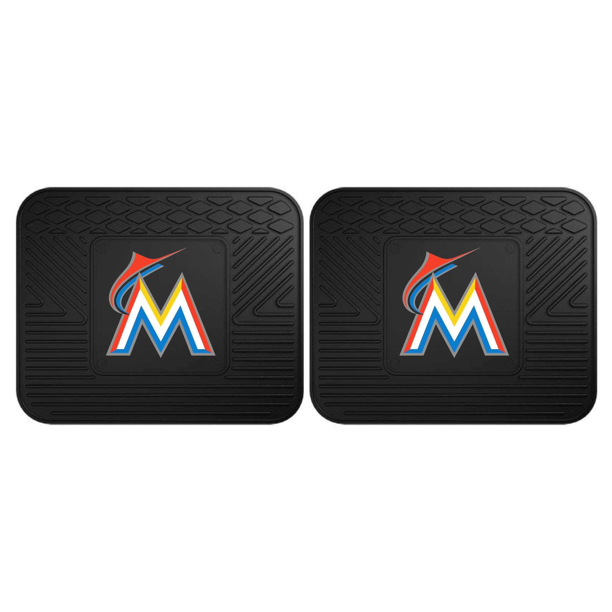 Miami Marlins 2-Pack Utility Mat Set