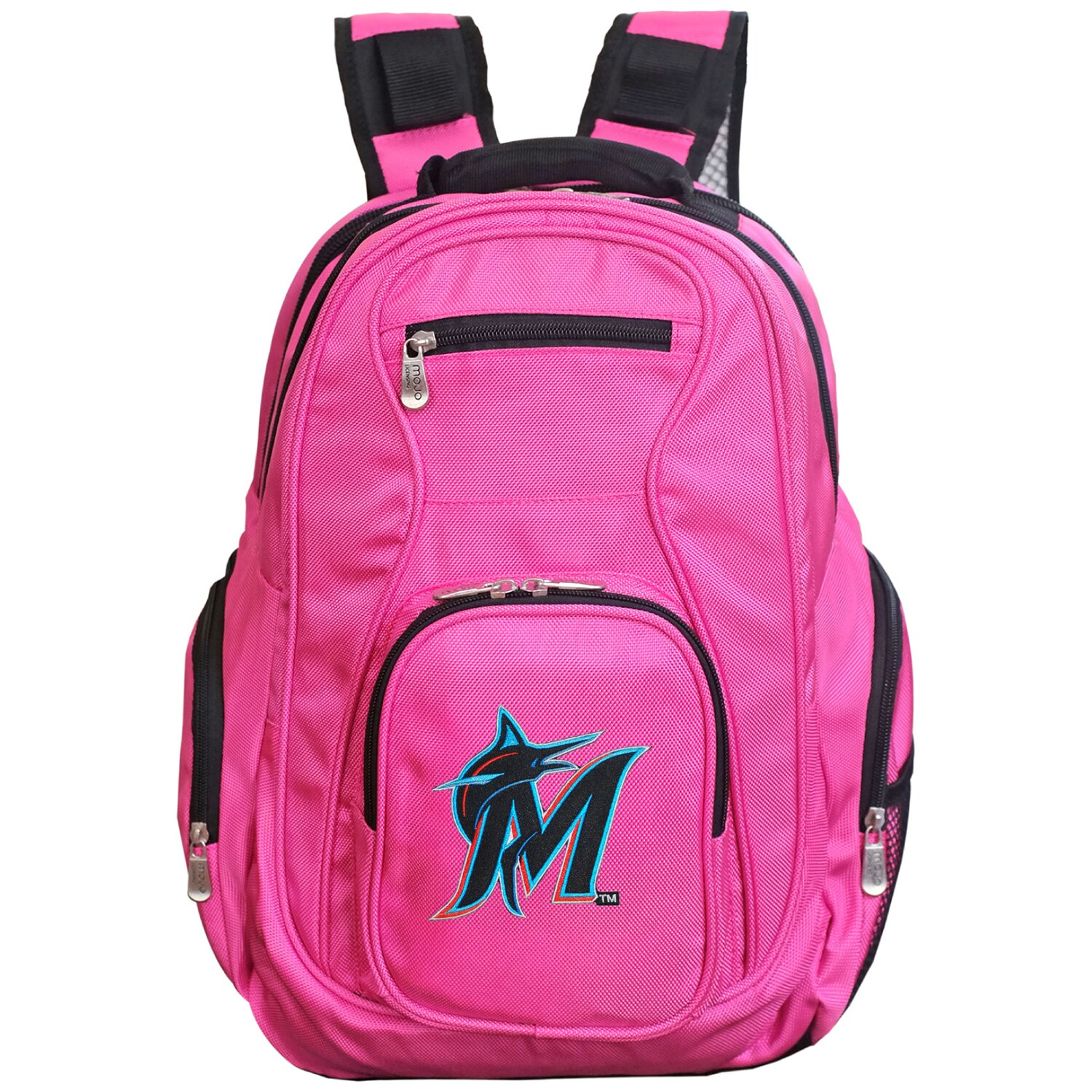 Miami Marlins Backpack Laptop - Pink