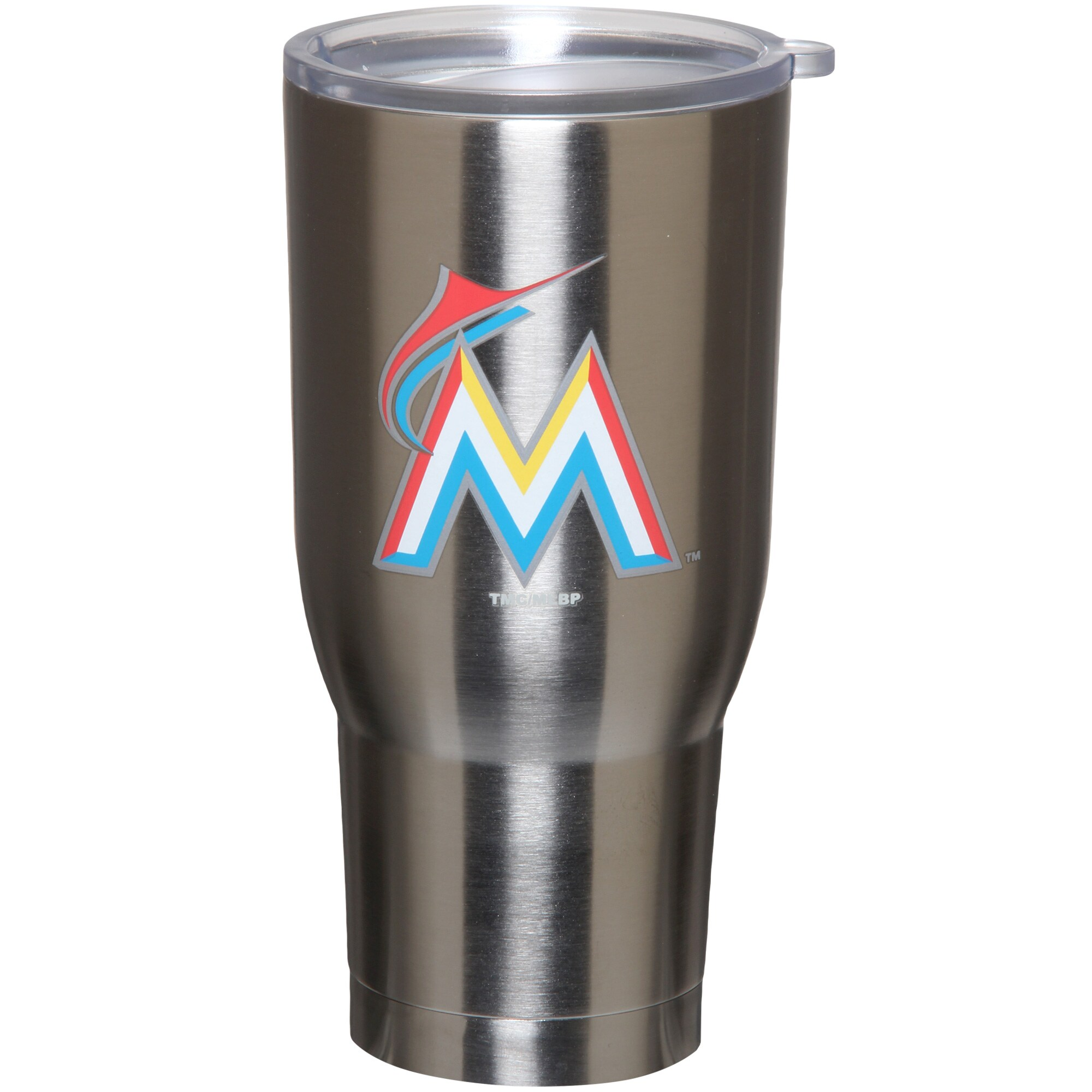 Miami Marlins 32oz. Stainless Steel Keeper Tumbler
