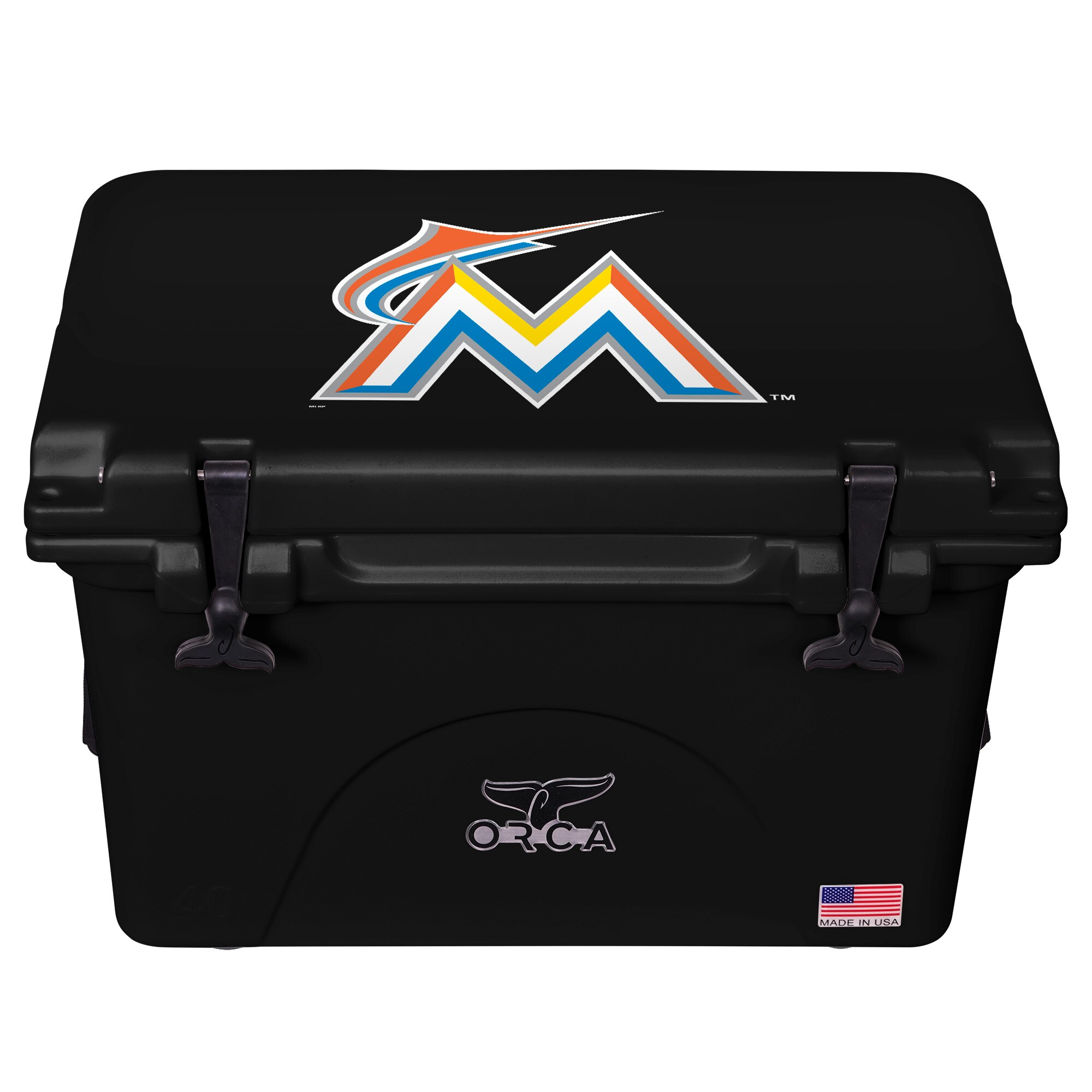 Miami Marlins ORCA 40-Quart Hard-Sided Cooler