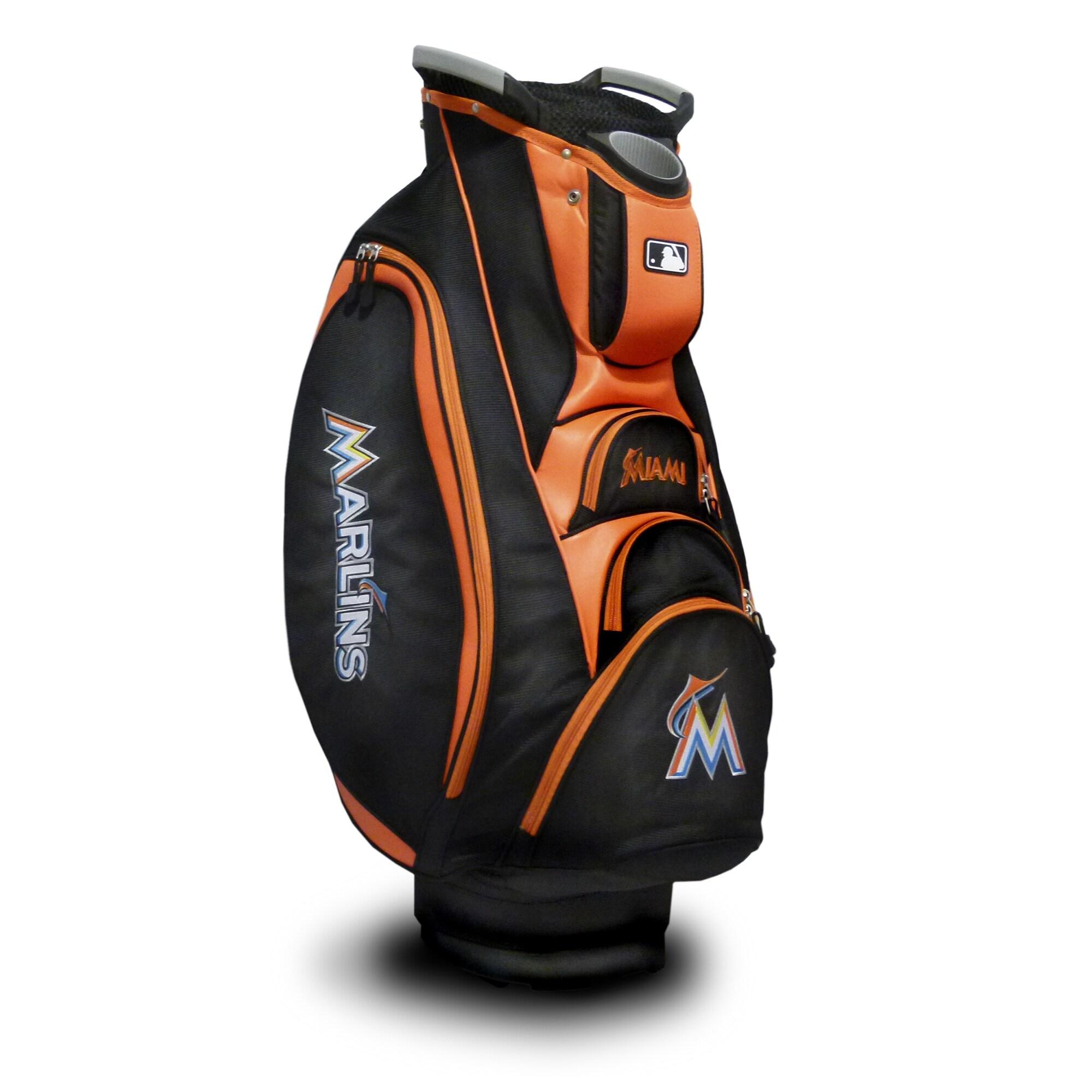 Miami Marlins Victory Cart Golf Bag