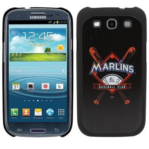 Miami Marlins Samsung Galaxy S3 Thinkshield Case - Black