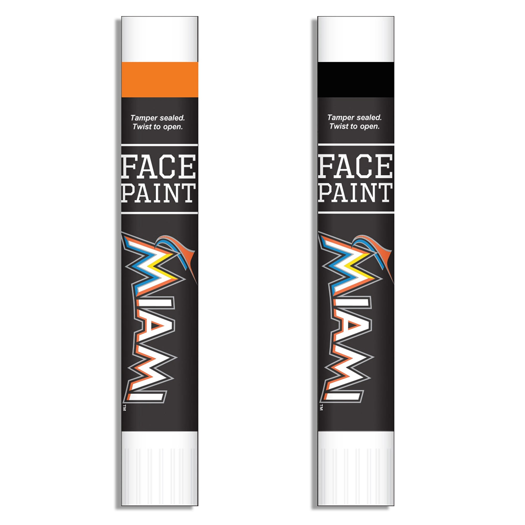Miami Marlins Face Paint Two-Pack