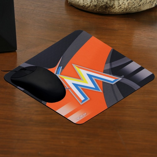 Miami Marlins Sublimated Mousepad