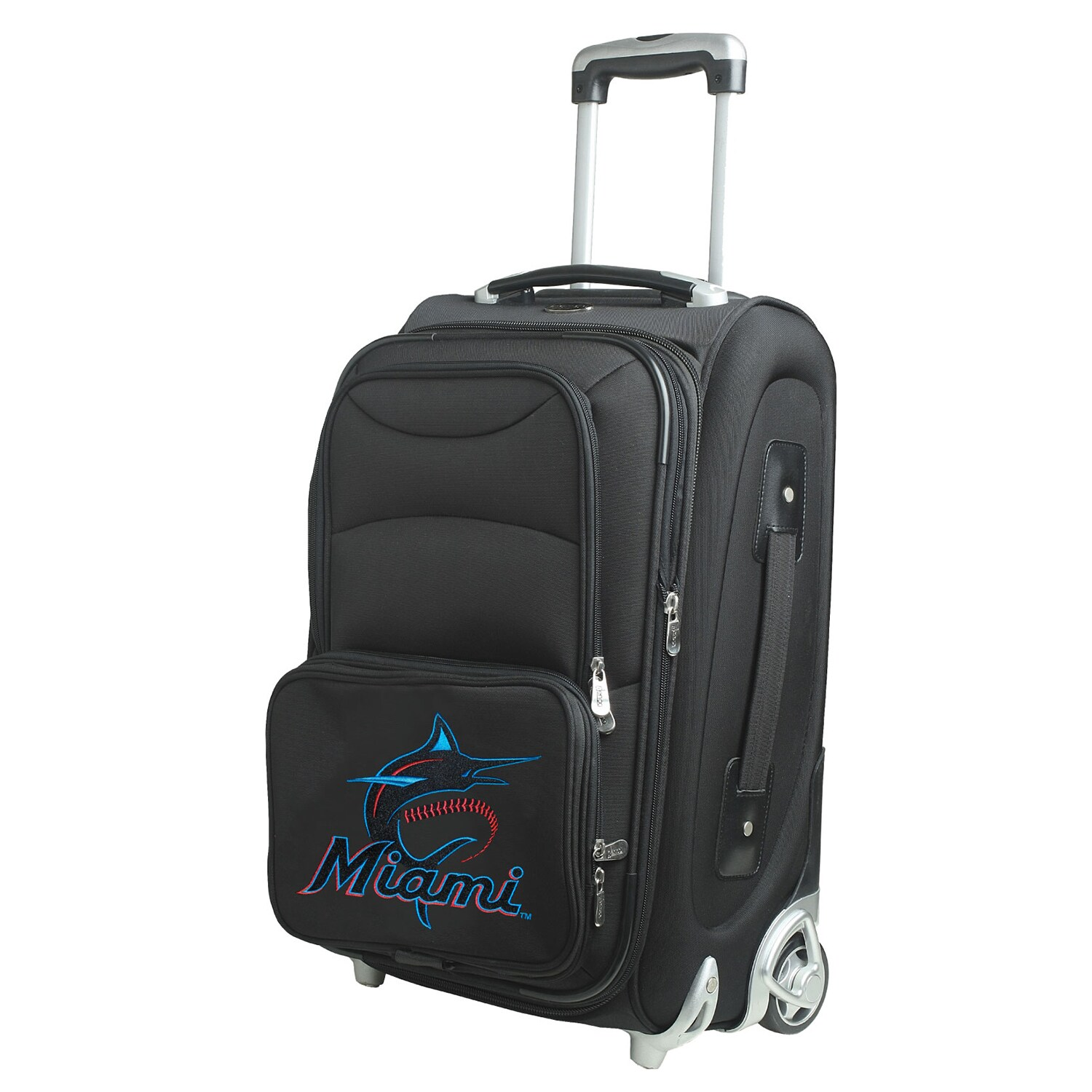 "Miami Marlins 21"" Rolling Carry-On Suitcase"