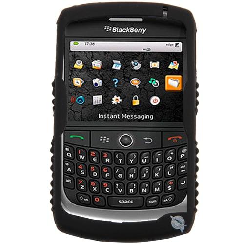 Miami Marlins BlackBerry Curve Cashmere Silicone Case - Black