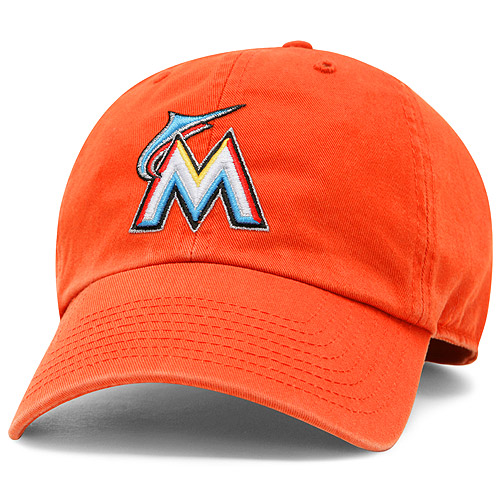 Miami Marlins '47 Freshman Franchise Fitted Hat - Orange