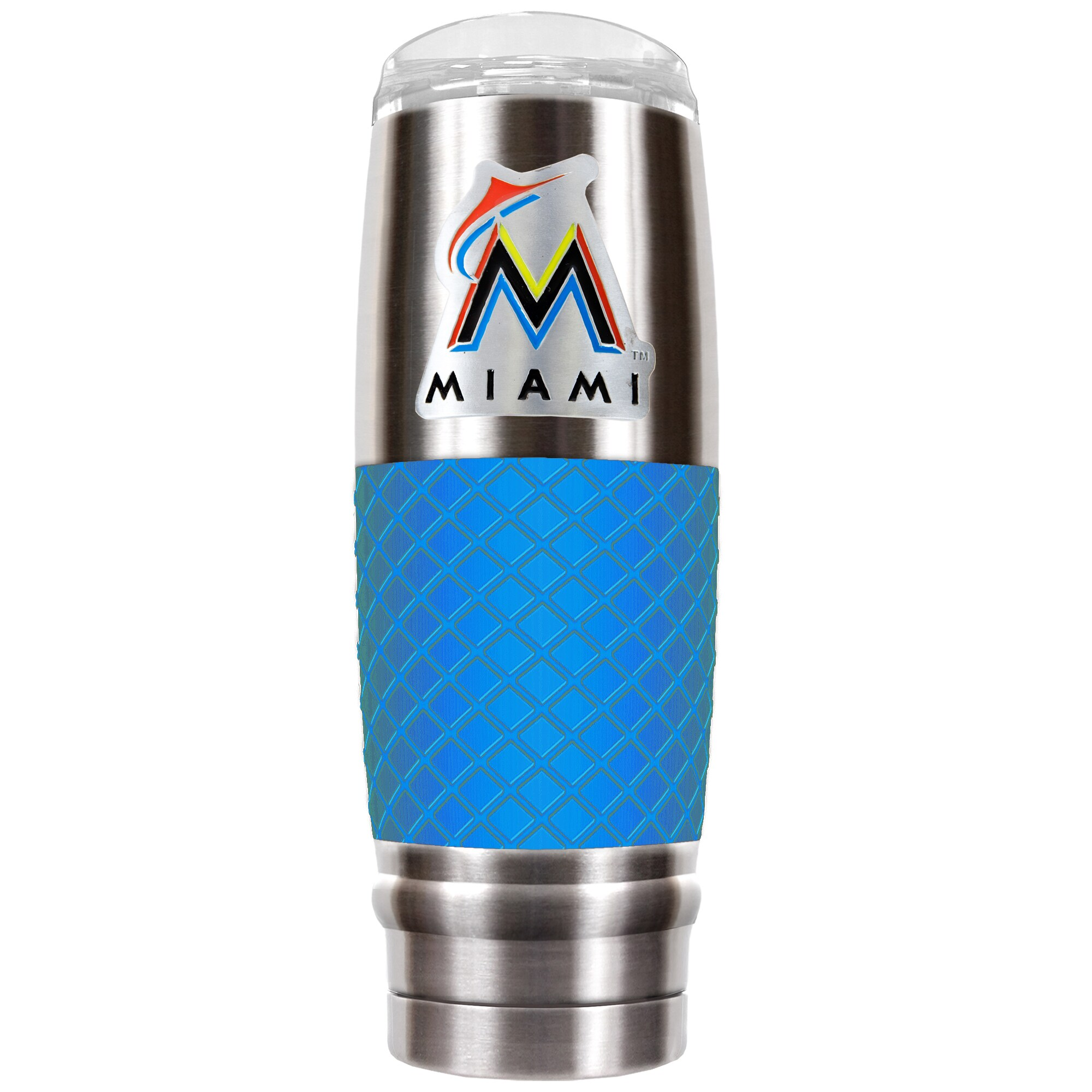 Miami Marlins 30oz. The Reserve Vacuum-Insulated Travel Tumbler - Blue