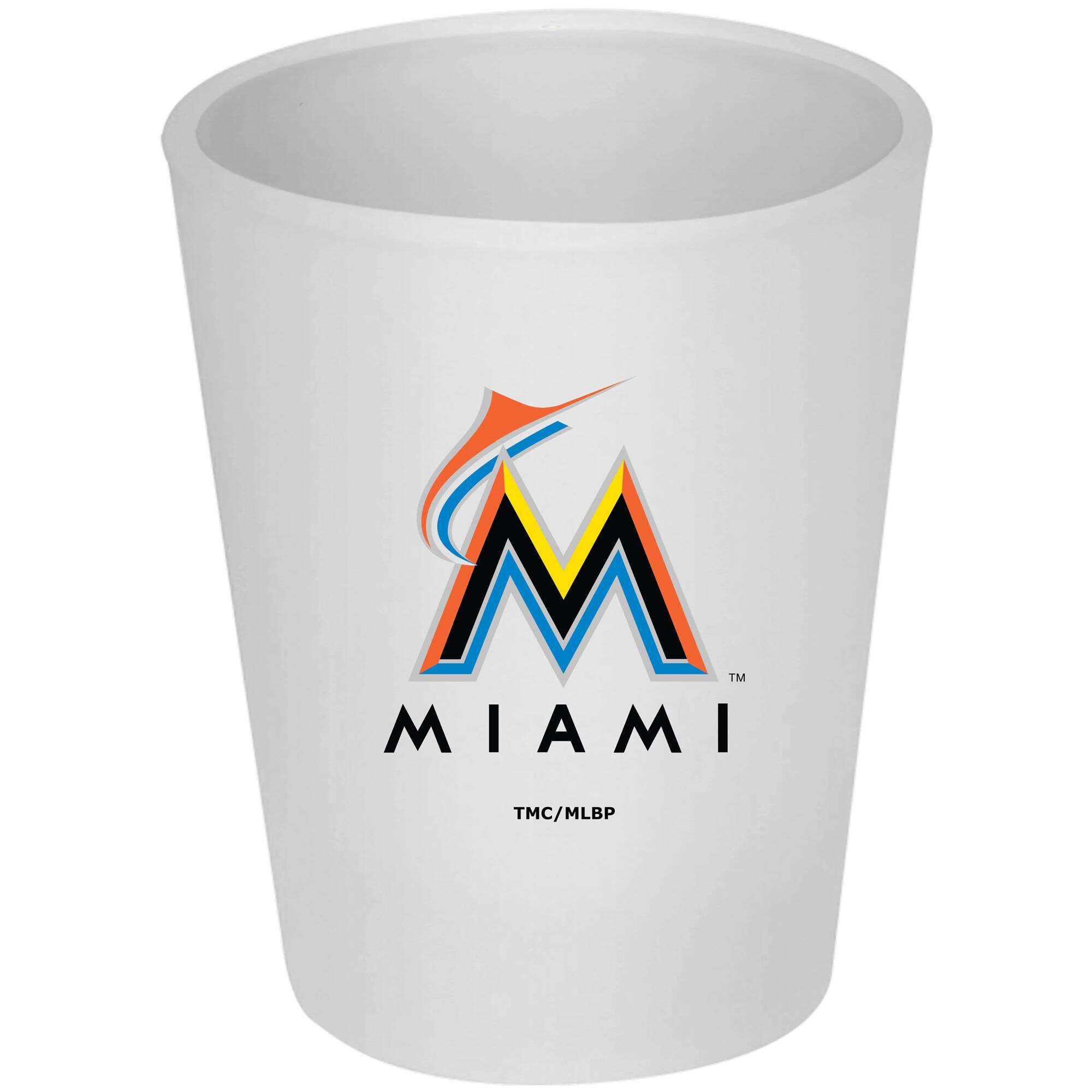 Miami Marlins 4.5oz. Frosted Souvenir Glass