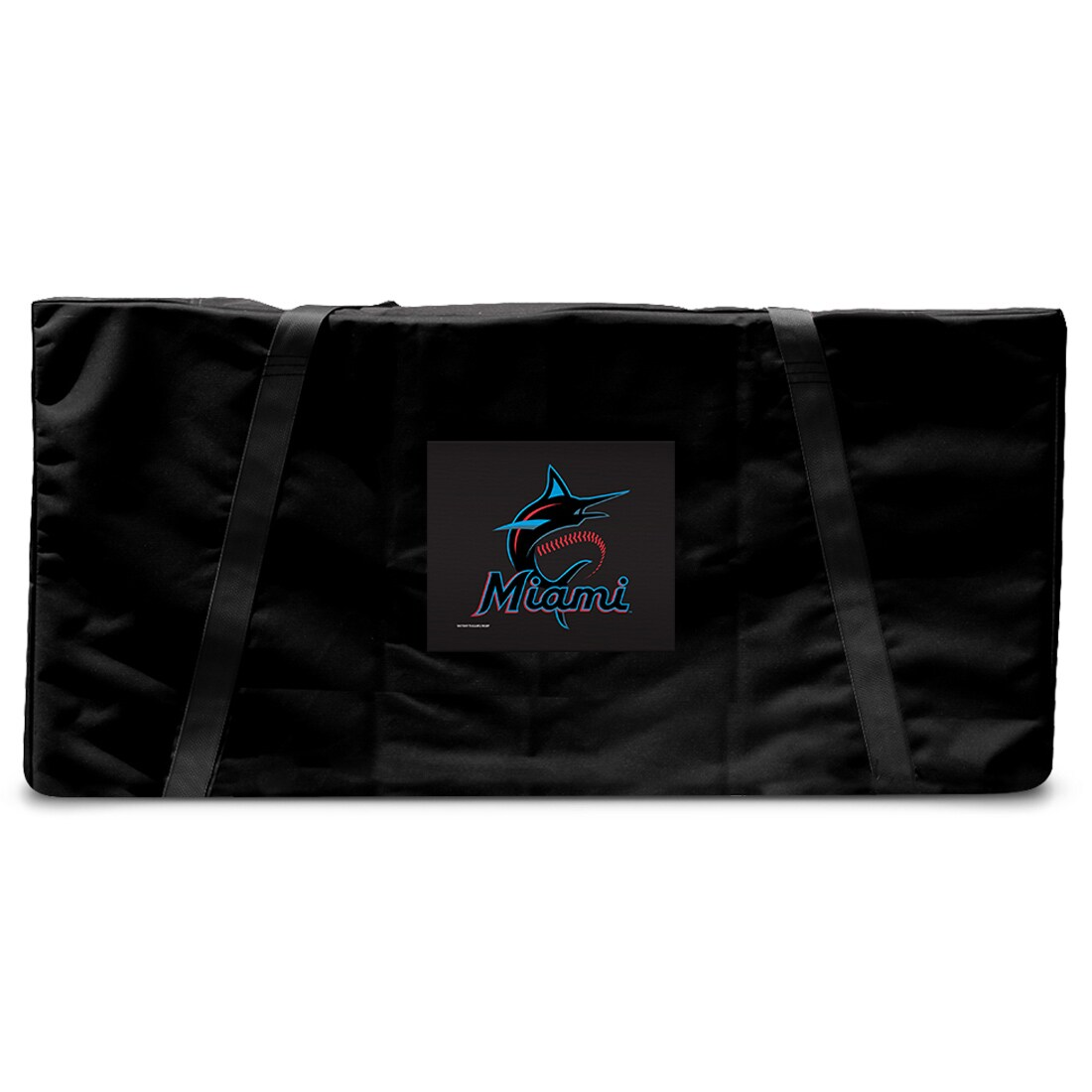 Miami Marlins Regulation Cornhole Carrying Case