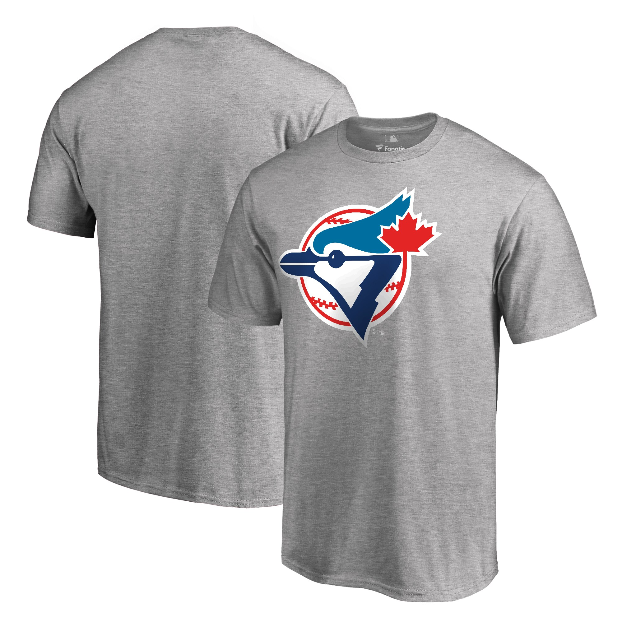 Toronto Blue Jays Fanatics Branded Cooperstown Collection Forbes T-Shirt - Ash