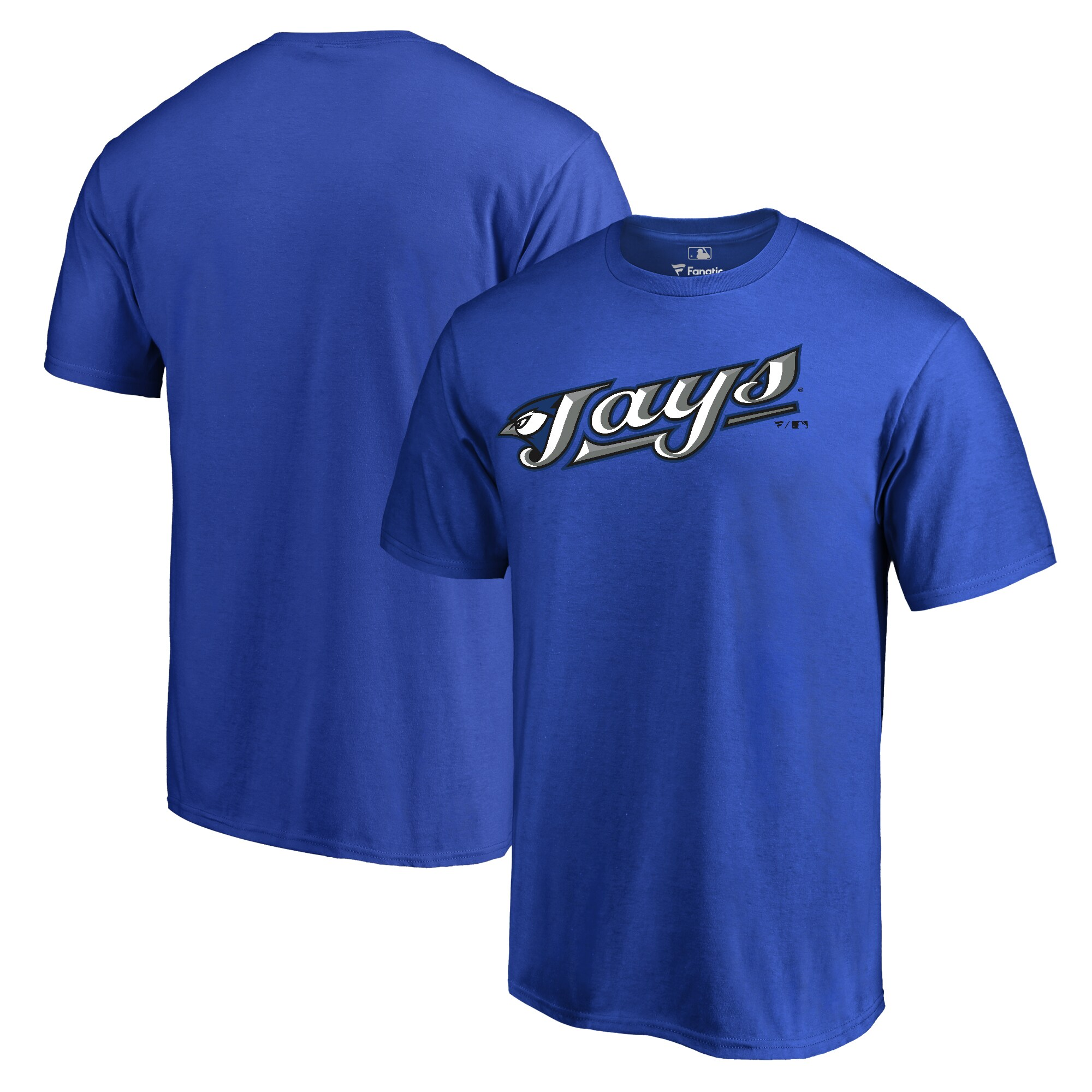 Toronto Blue Jays Fanatics Branded Big & Tall Cooperstown Collection Wahconah T-Shirt - Blue