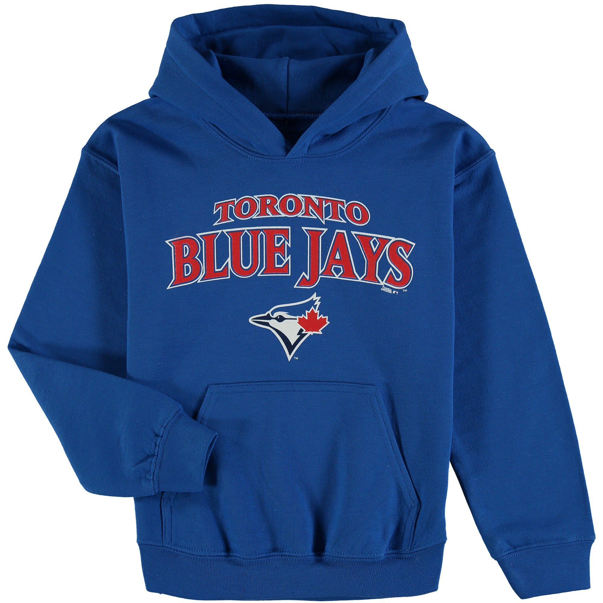 Toronto Blue Jays Stitches Youth Team Fleece Pullover Hoodie - Royal