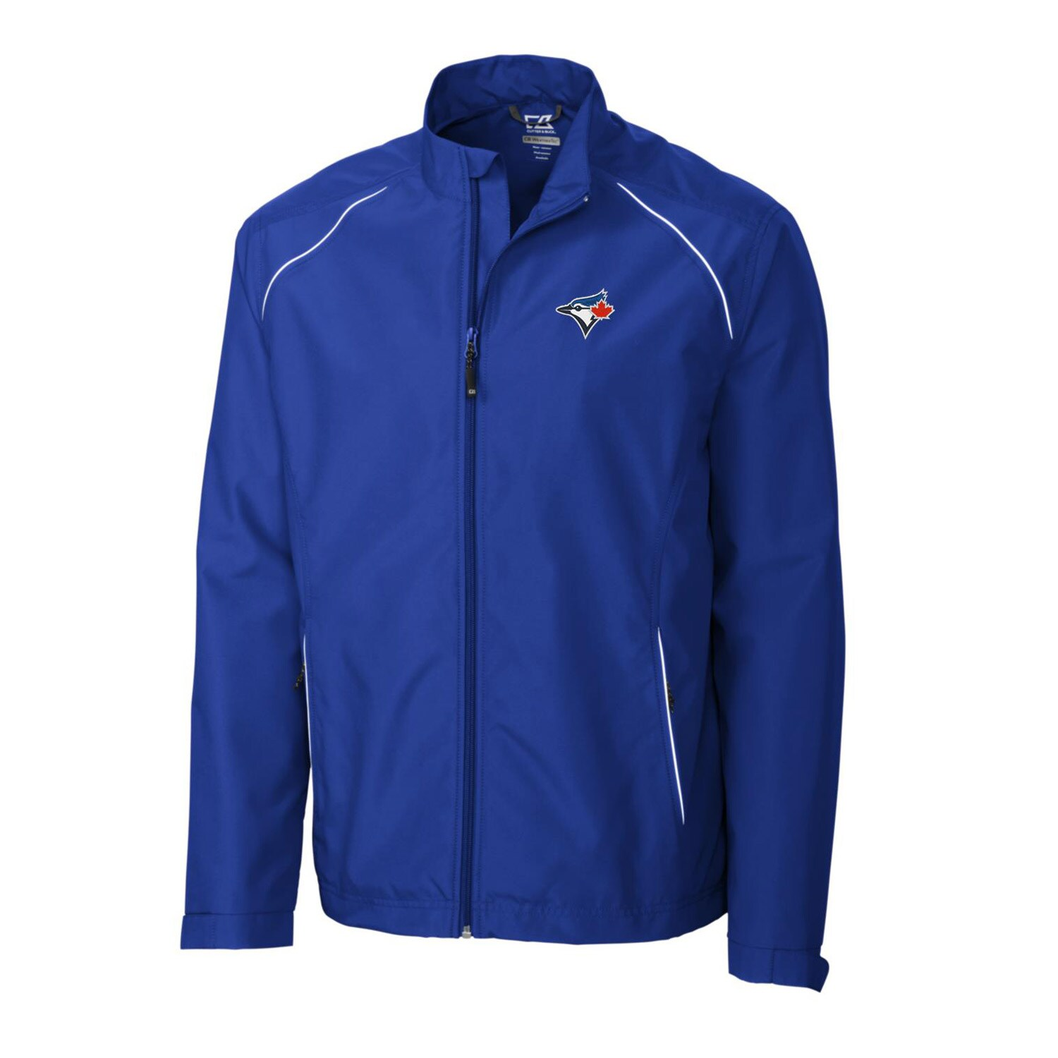 Toronto Blue Jays Cutter & Buck Big & Tall WeatherTec Beacon Full Zip Jacket - Royal