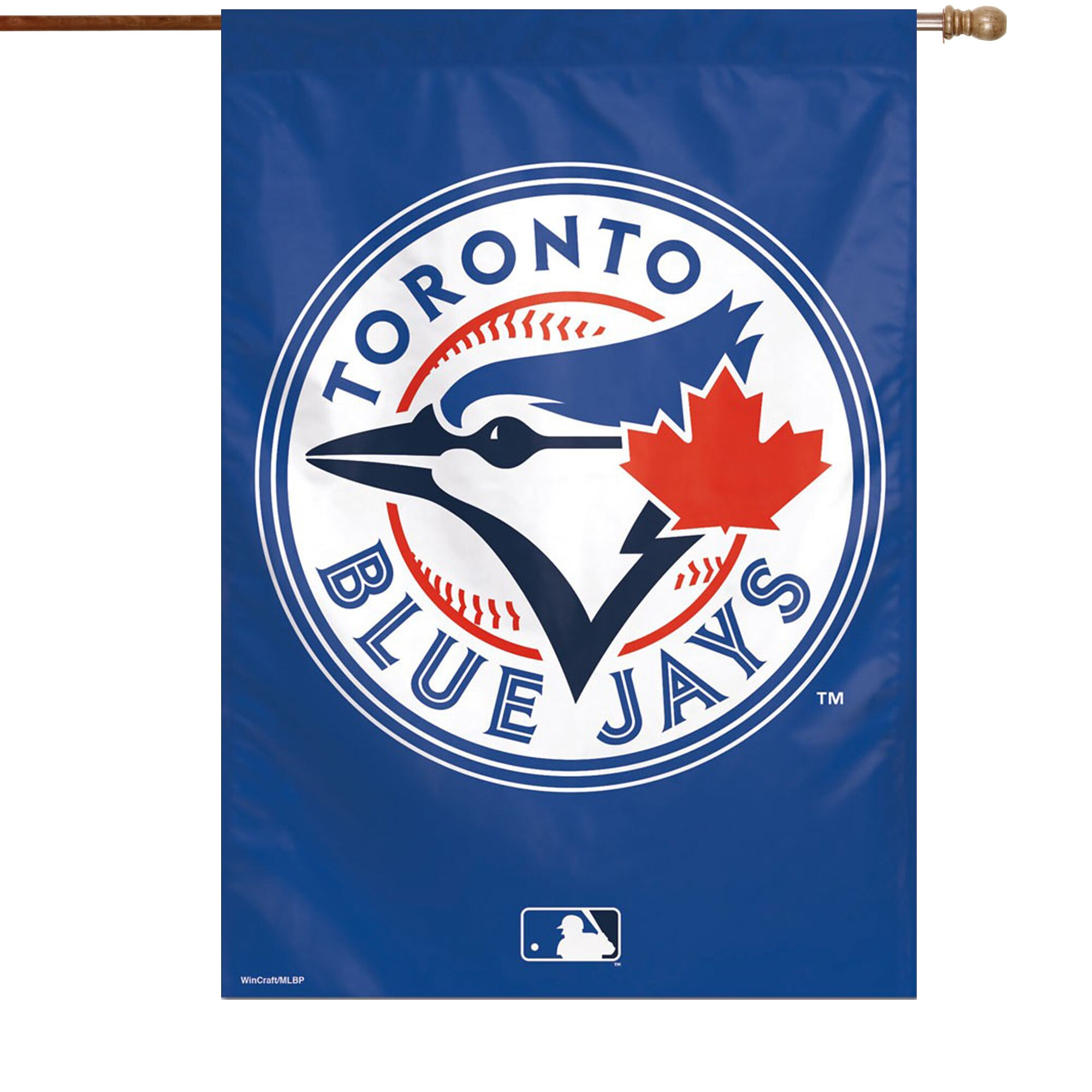 "Toronto Blue Jays WinCraft 28"" x 40"" Circle Logo Single-Sided Vertical Banner"