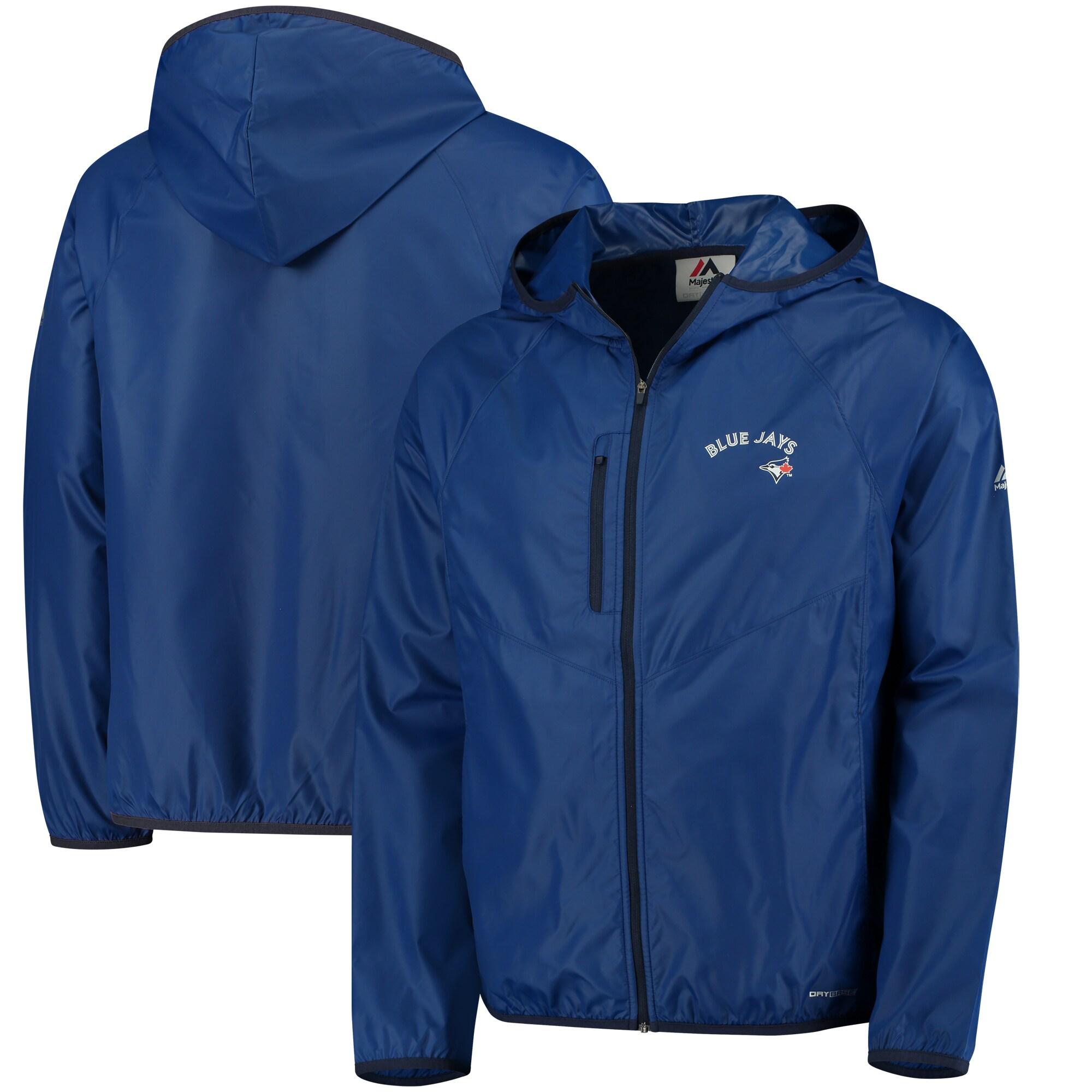 Toronto Blue Jays Majestic Weakness is a Choice Full-Zip Jacket - Royal