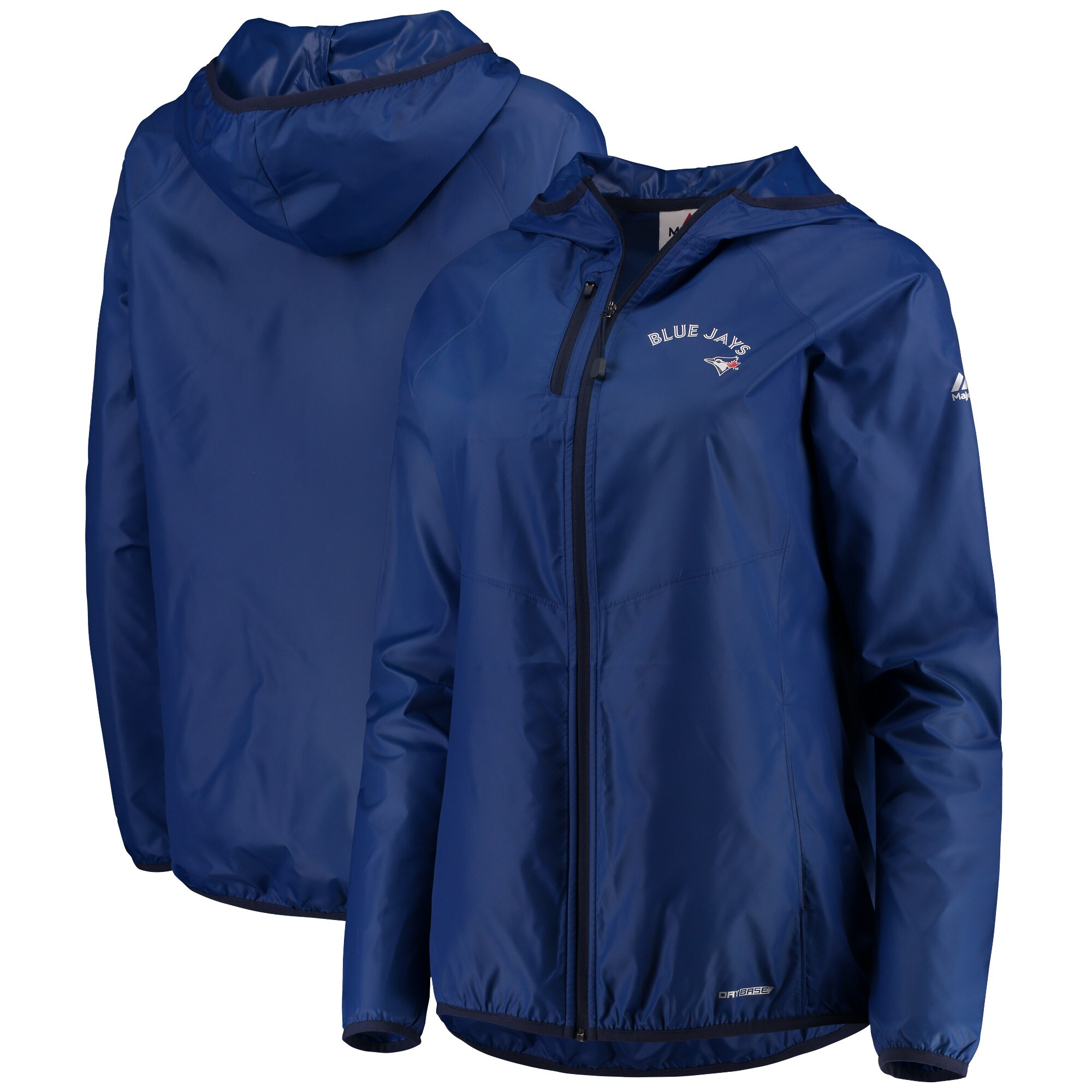 Toronto Blue Jays Majestic Women's Absolute Dominance Full-Zip Jacket - Royal