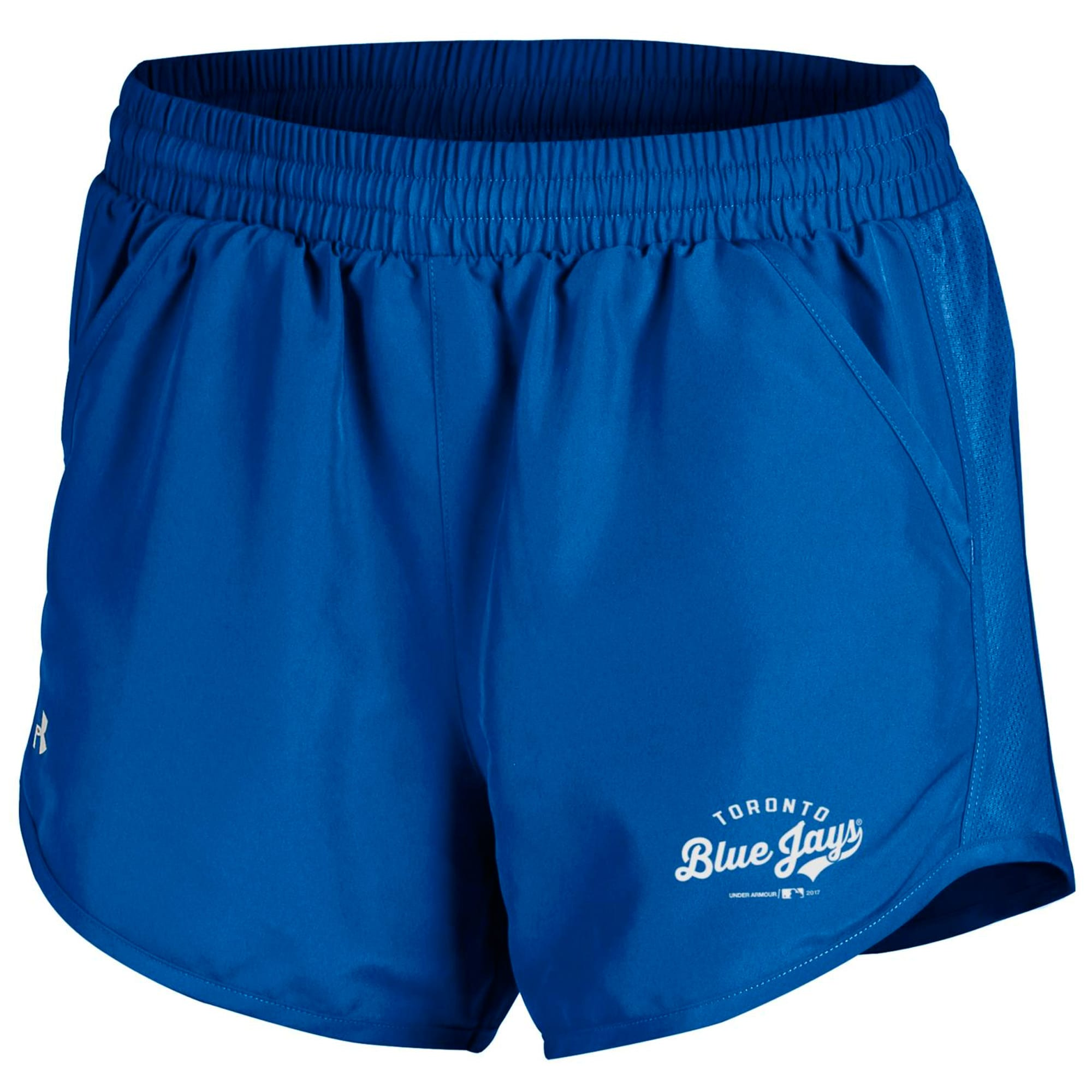 Toronto Blue Jays Under Armour Women's Fly By Running Shorts - Royal