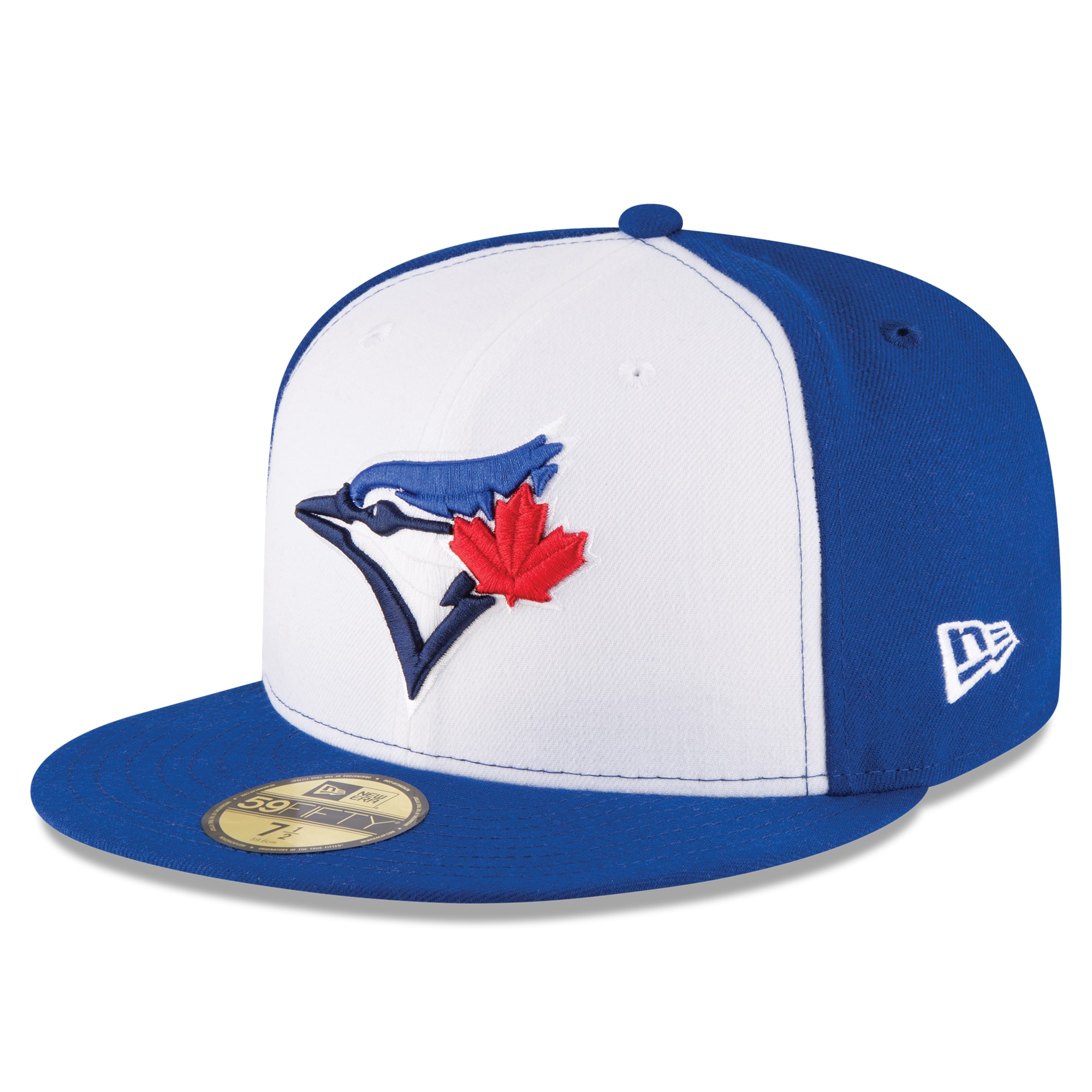 Toronto Blue Jays New Era 2017 Authentic Collection On-Field 59FIFTY Fitted Hat - White/Royal