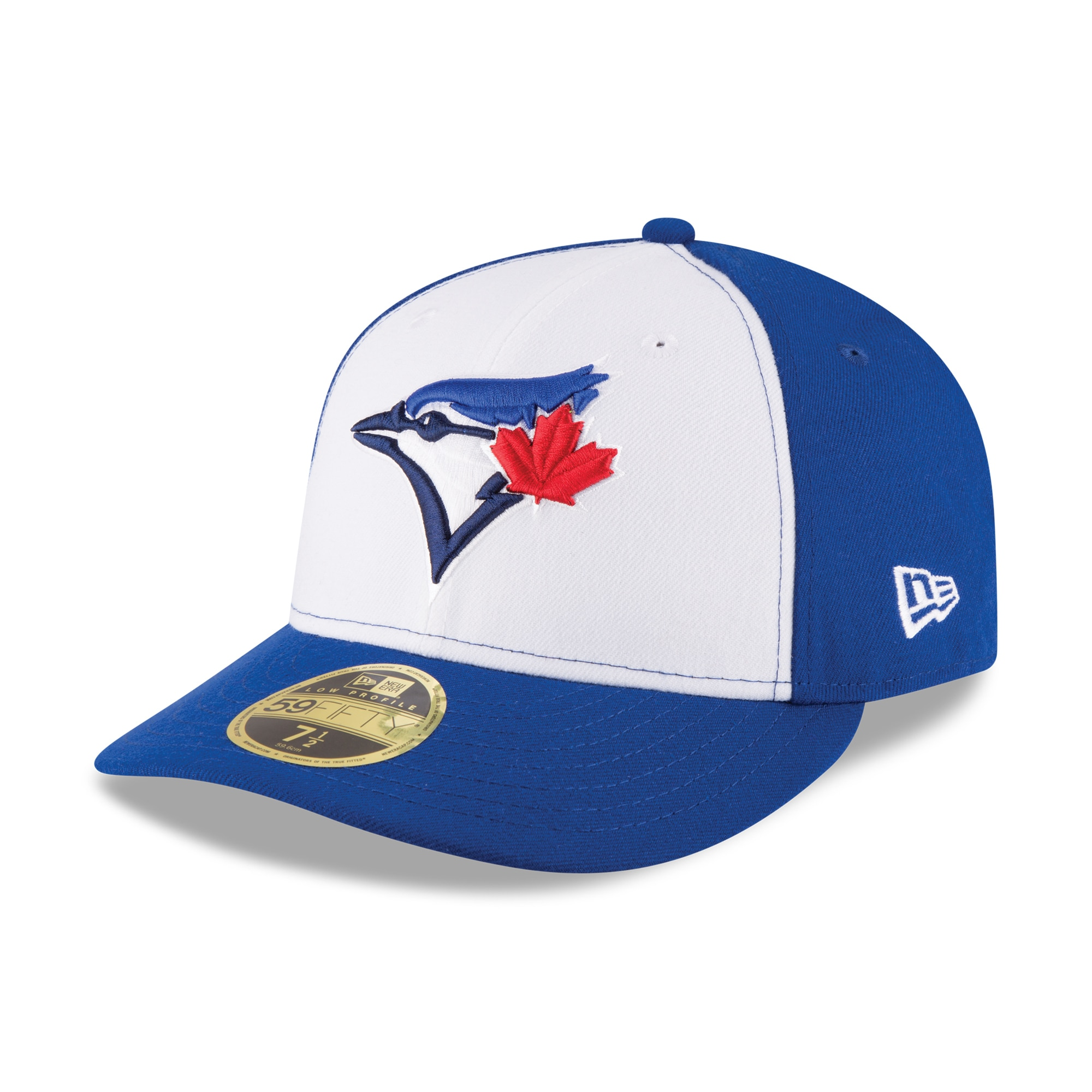 Toronto Blue Jays New Era 2017 Authentic Collection On-Field Low Profile 59FIFTY Fitted Hat - White/Royal