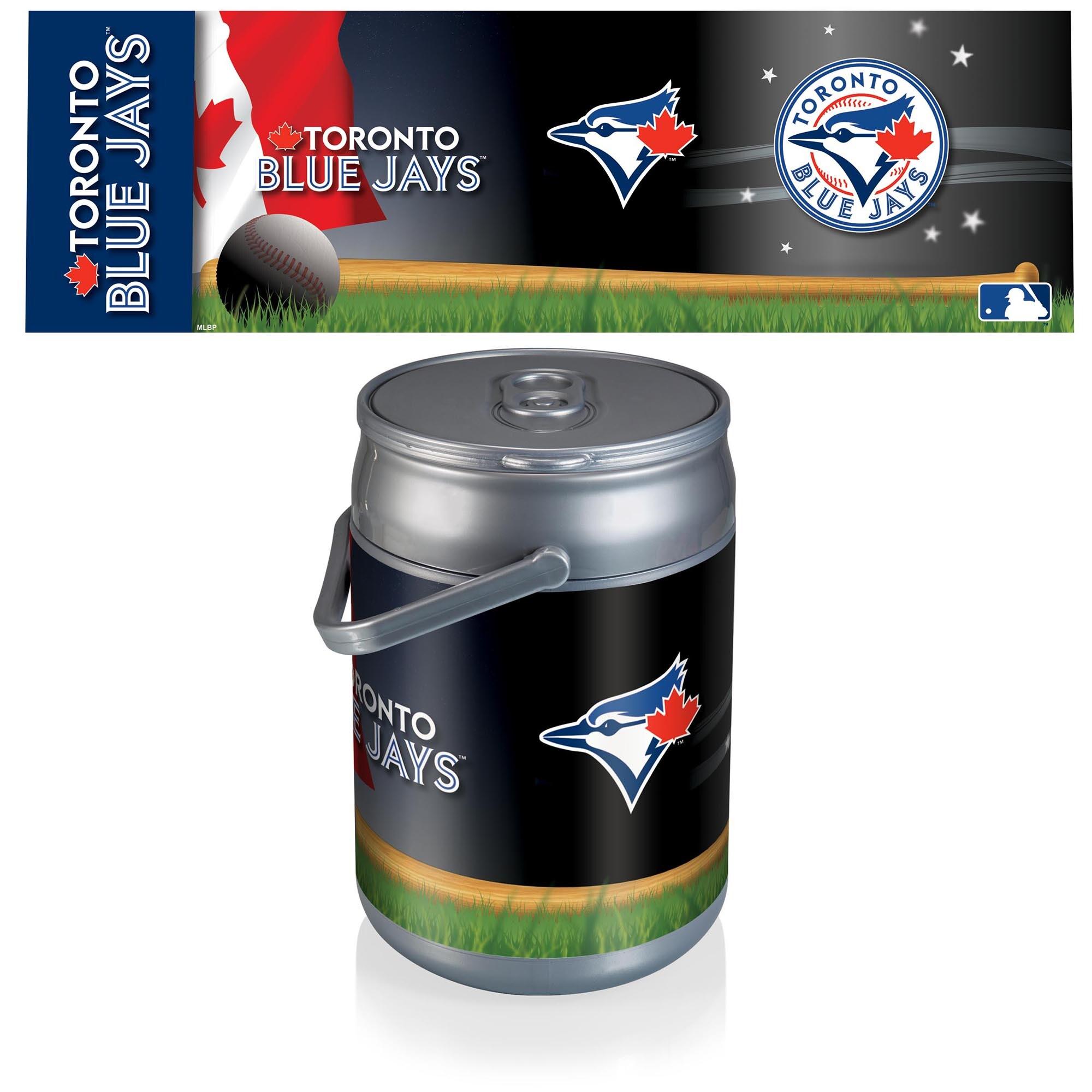 Toronto Blue Jays Diagonal Can Cooler