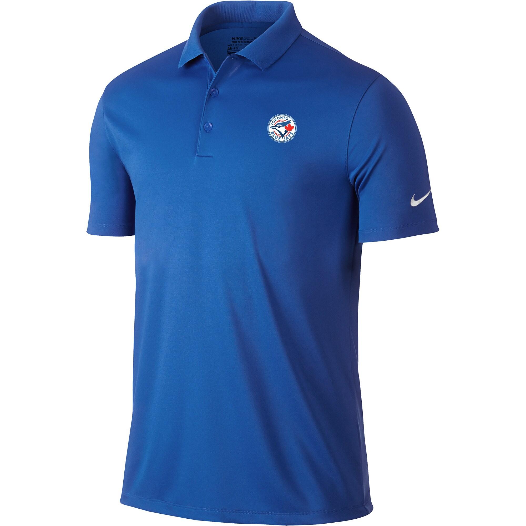 Toronto Blue Jays Nike Golf Victory Solid Performance Polo - Royal