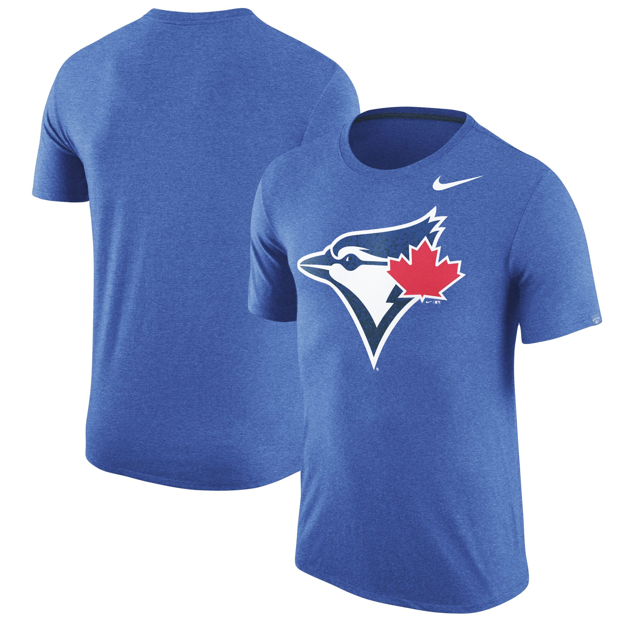 Toronto Blue Jays Nike Tri-Blend T-Shirt - Heathered Royal