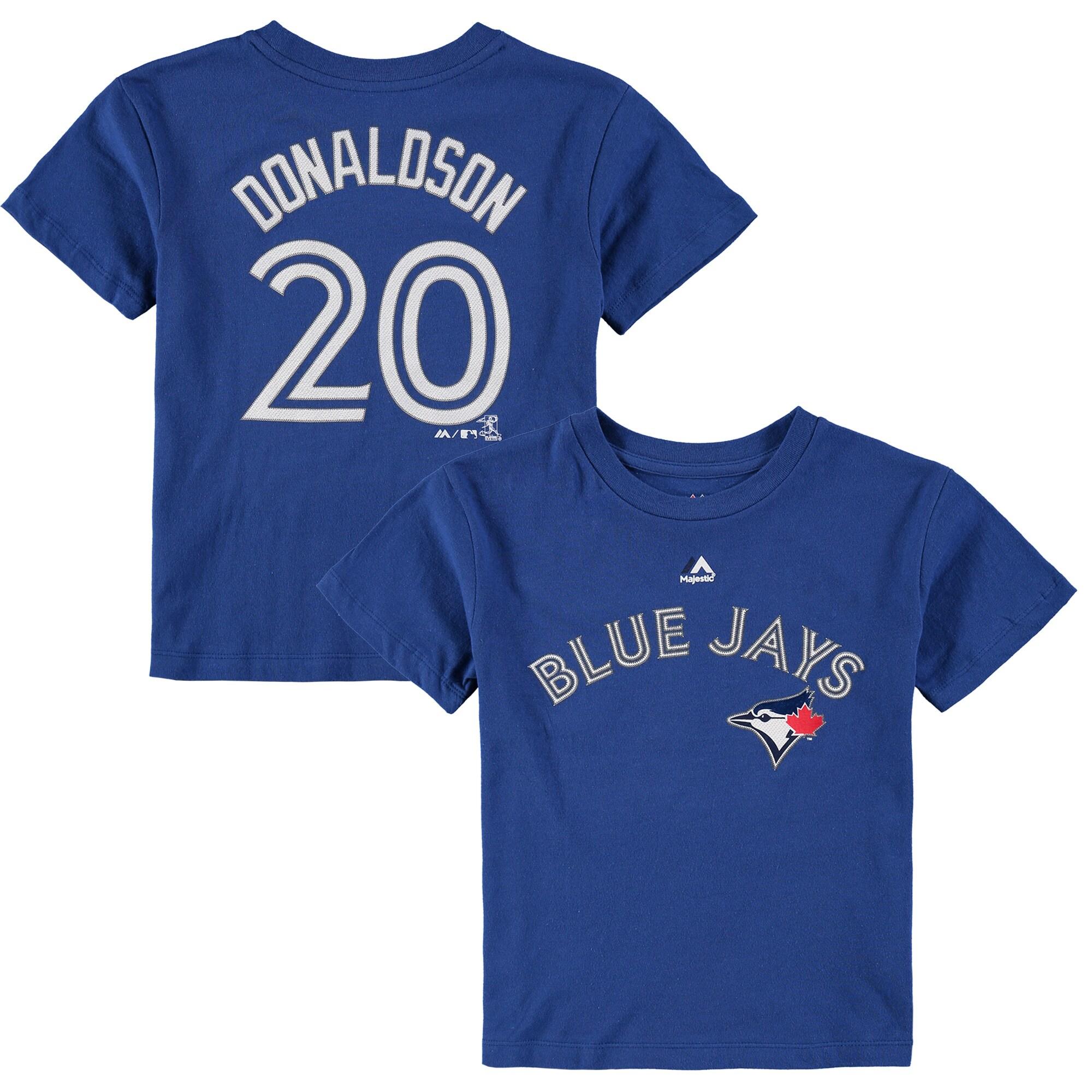 Josh Donaldson Toronto Blue Jays Preschool Player Name & Number T-Shirt - Royal