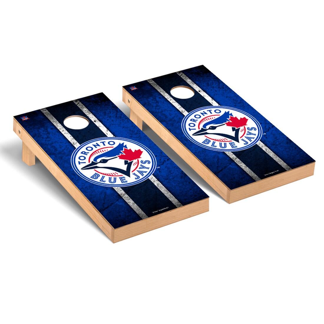 Toronto Blue Jays 2' x 4' Vintage Cornhole Board Tailgate Toss Set
