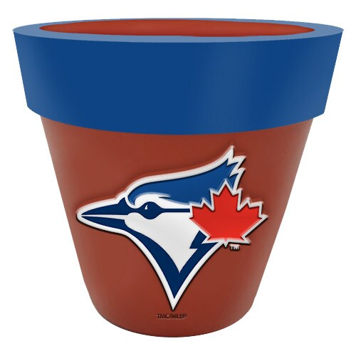 Toronto Blue Jays Team Planter Flower Pot