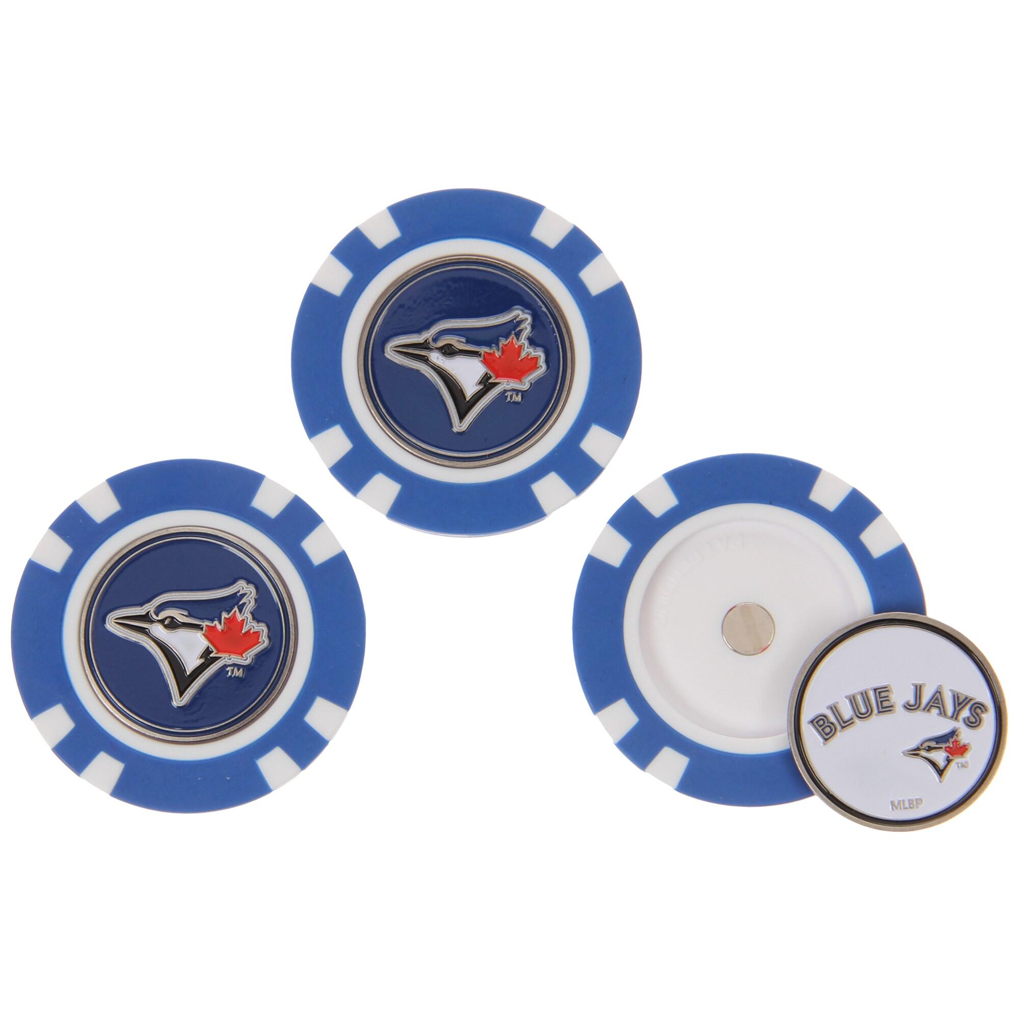 Toronto Blue Jays 3-Pack Poker Chip Golf Ball Markers