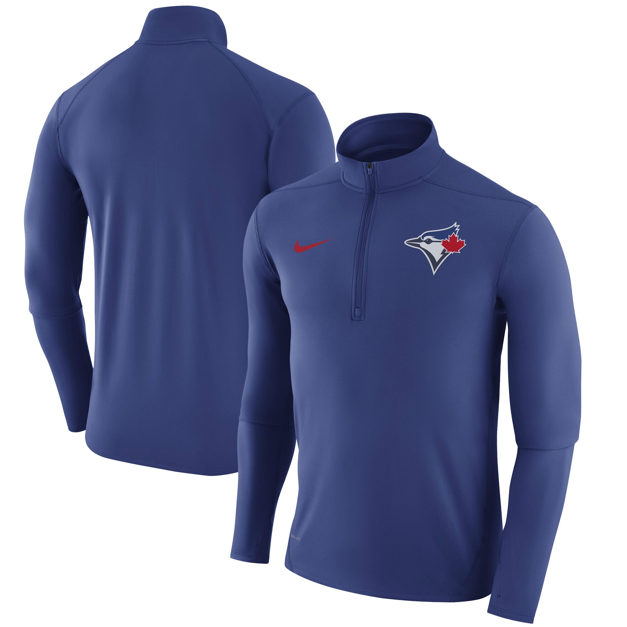 Toronto Blue Jays Nike Element Half-Zip Performance Top - Royal