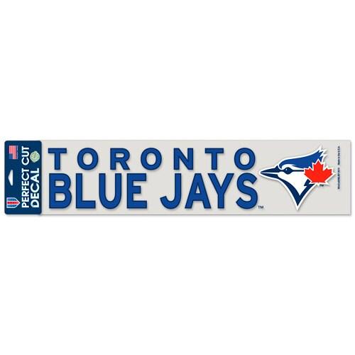 "Toronto Blue Jays WinCraft 4"" x 17"" Die Cut Decal - Royal"