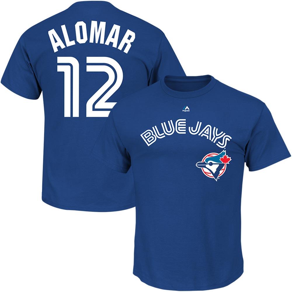 Roberto Alomar Toronto Blue Jays Majestic Big & Tall Cooperstown Name & Number T-Shirt - Royal