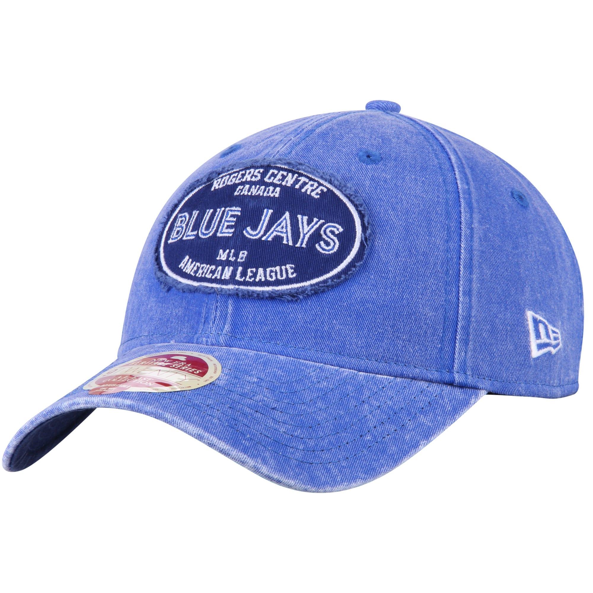 Toronto Blue Jays New Era American League East Stadium 9TWENTY Adjustable Hat - Heathered Royal