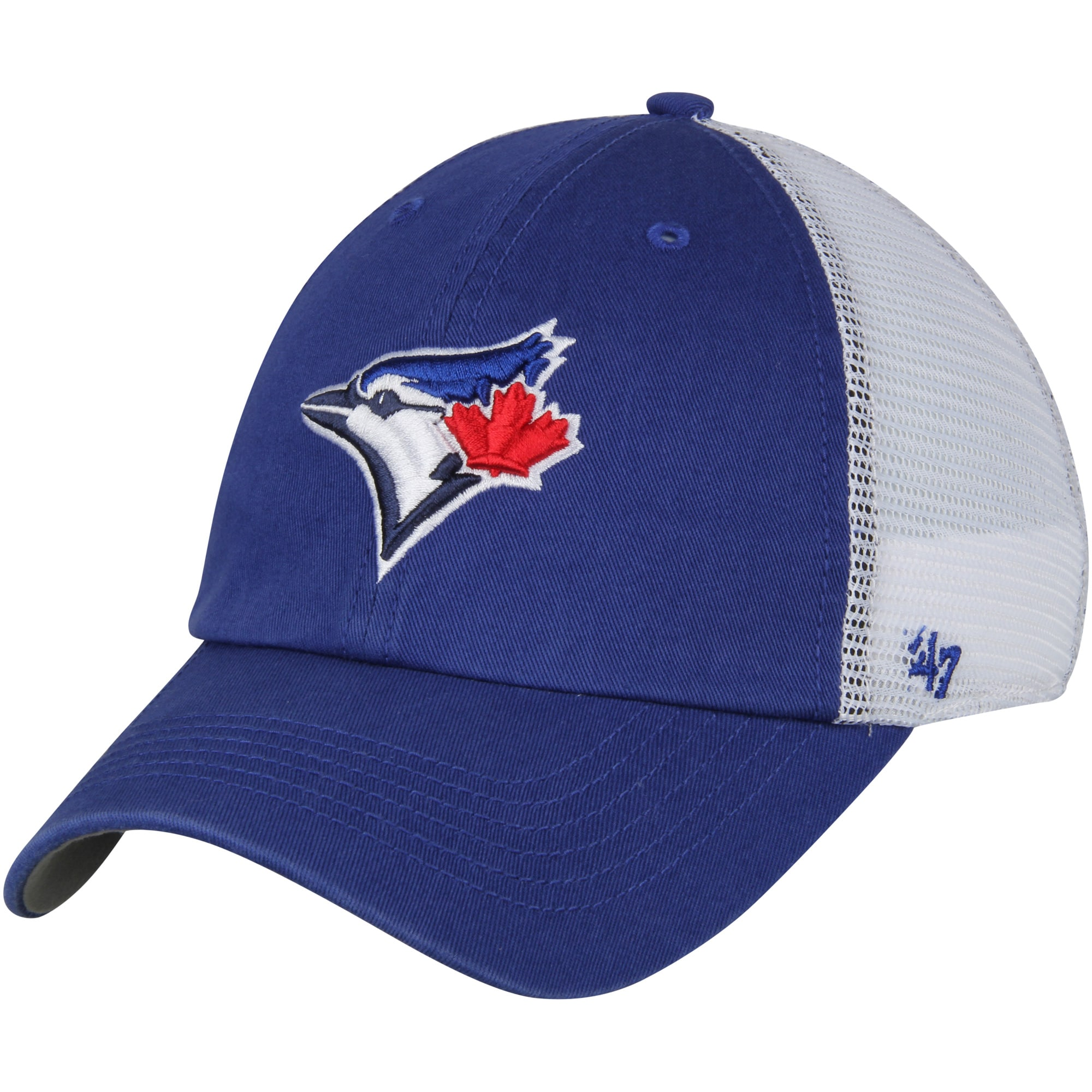 Toronto Blue Jays '47 Blue Hill Closer Flex Hat - Royal/White