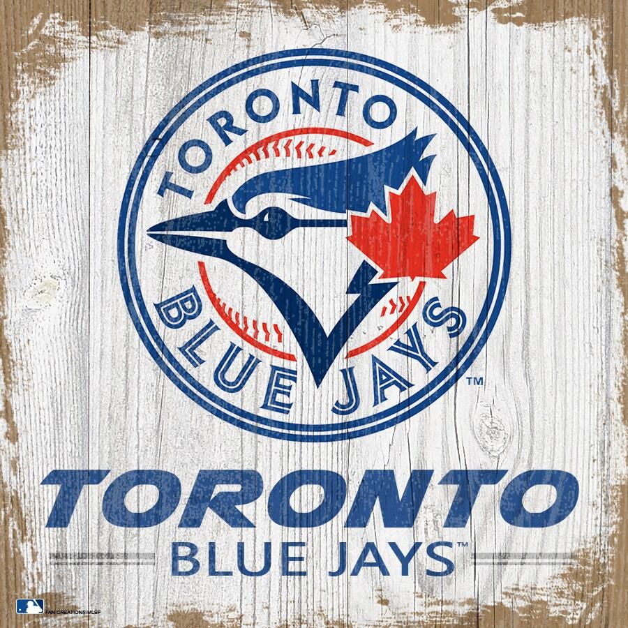 Toronto Blue Jays 6'' x 6'' Team Logo Block