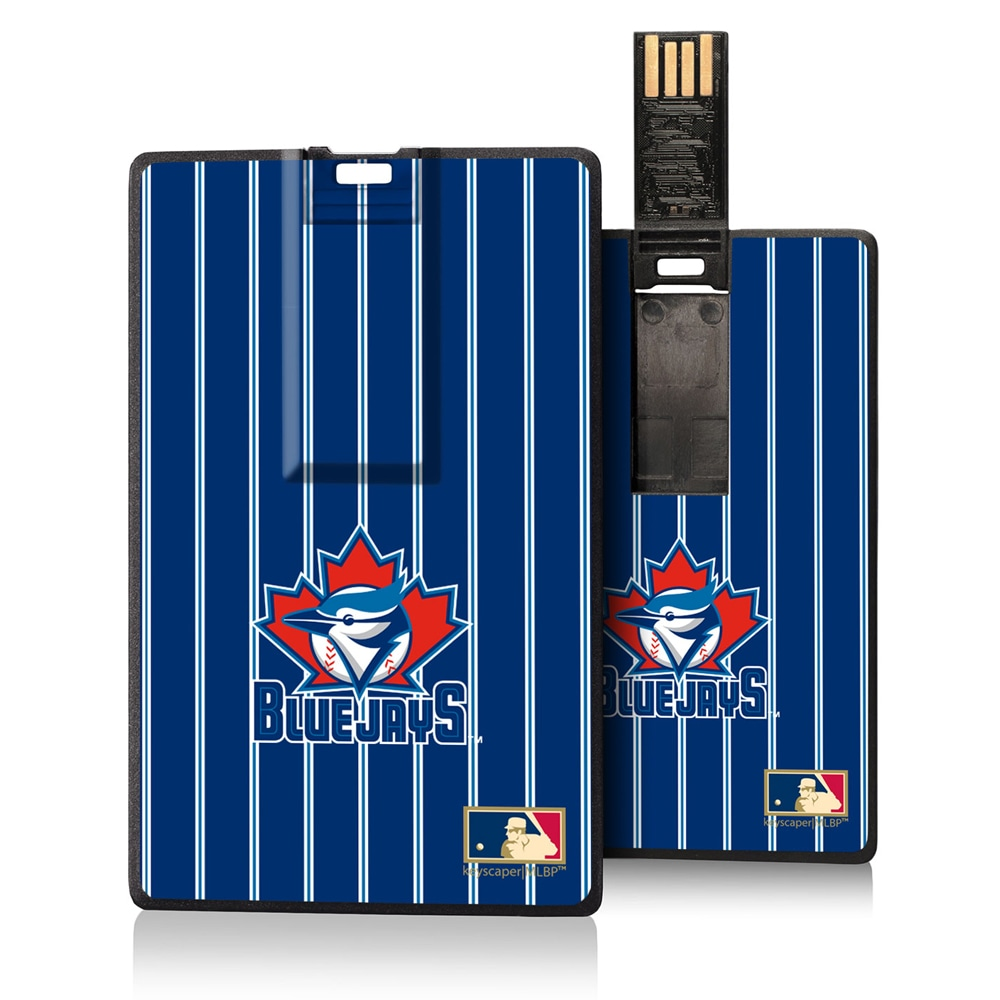 Toronto Blue Jays 1997-2002 Cooperstown Pinstripe Credit Card USB Drive