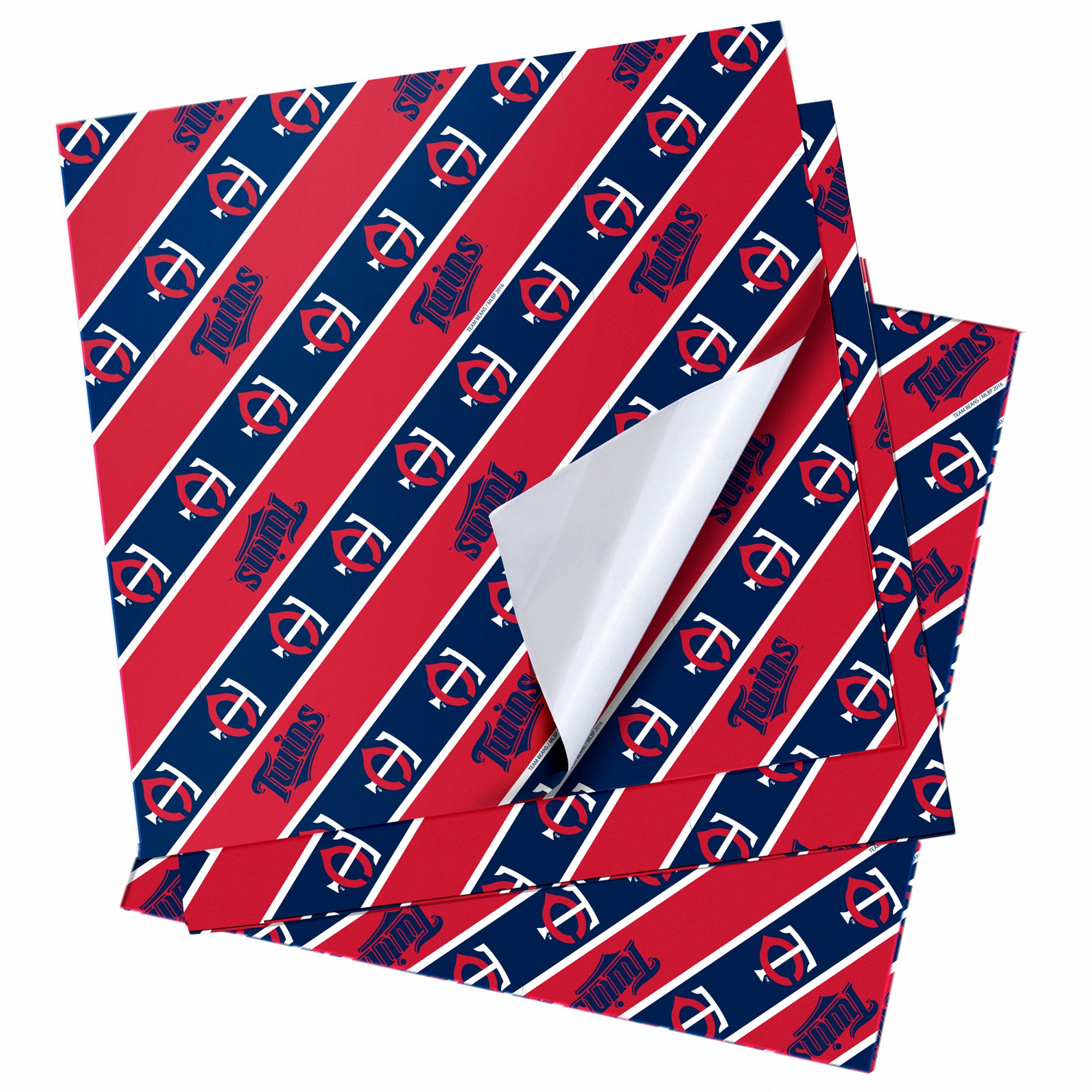 """Minnesota Twins 20"""" x 30"""" Wrapping Paper"""