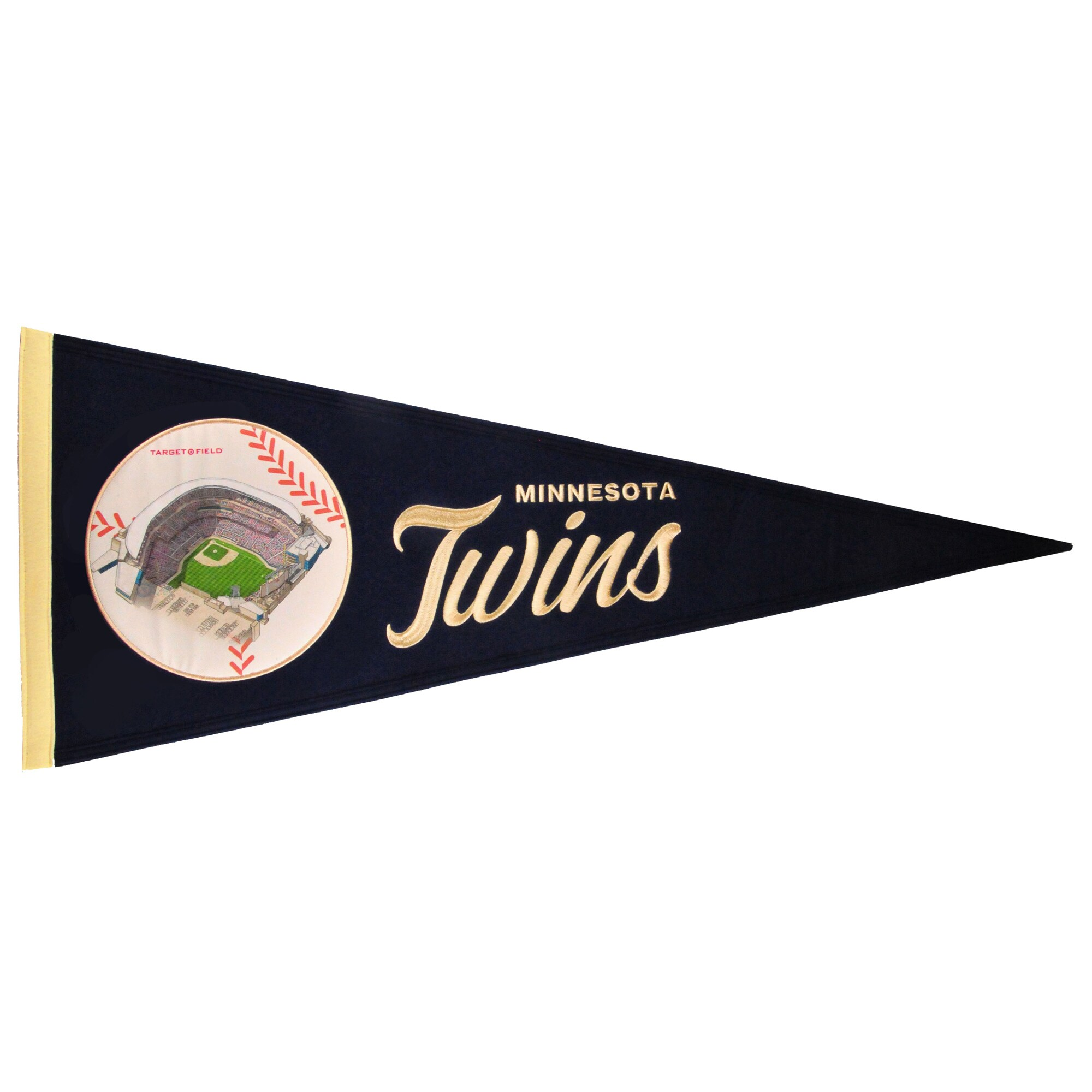 Minnesota Twins 13'' x 32'' Ballpark Traditions Pennant