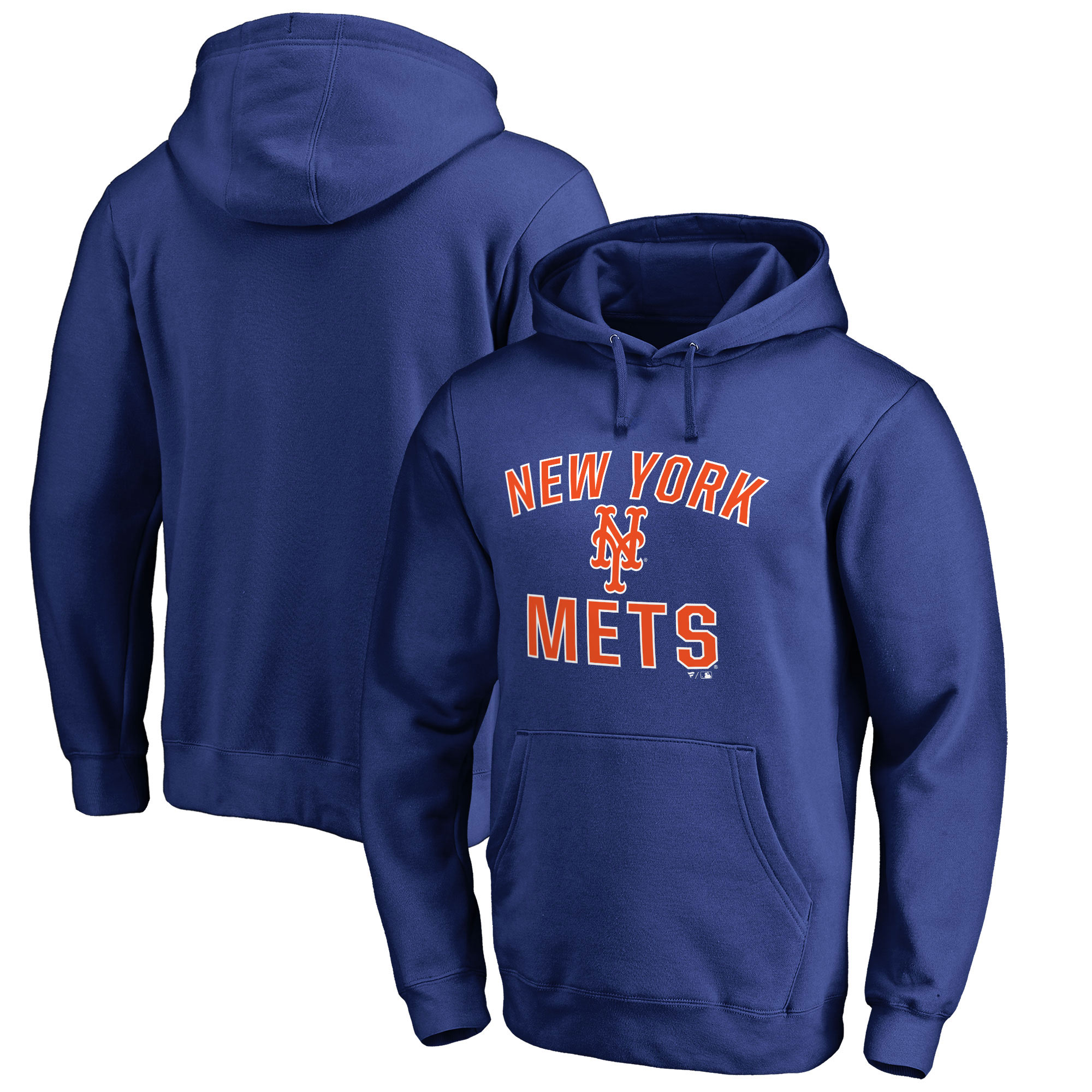 New York Mets Fanatics Branded Victory Arch Pullover Hoodie - Royal