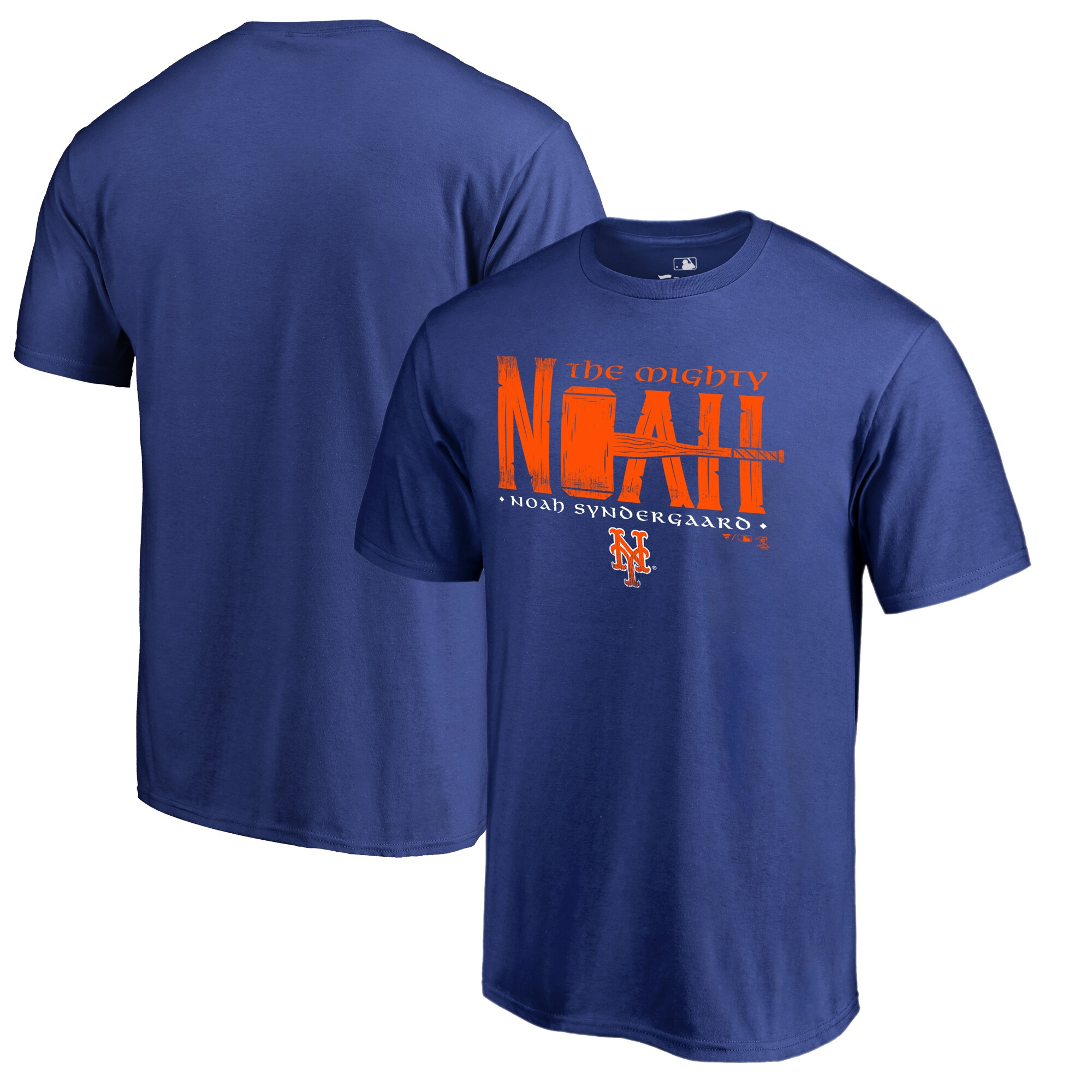 Noah Syndergaard New York Mets Fanatics Branded Player Hometown Collection Big & Tall T-Shirt - Royal