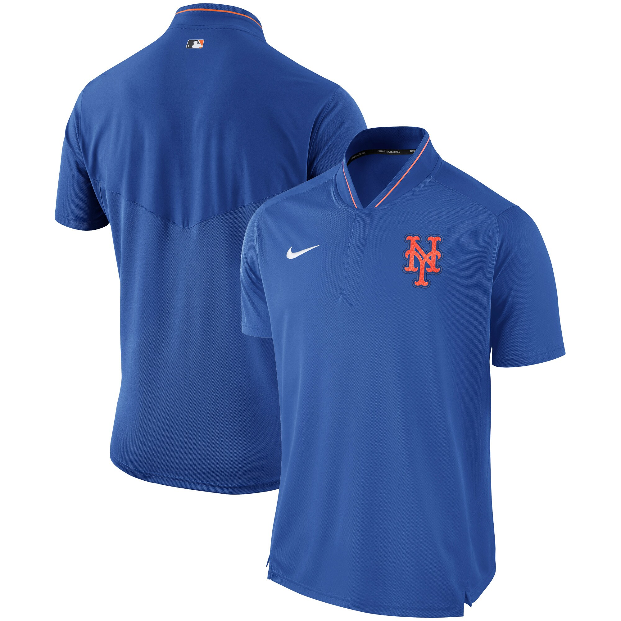 New York Mets Nike Authentic Collection Elite Performance Polo - Royal