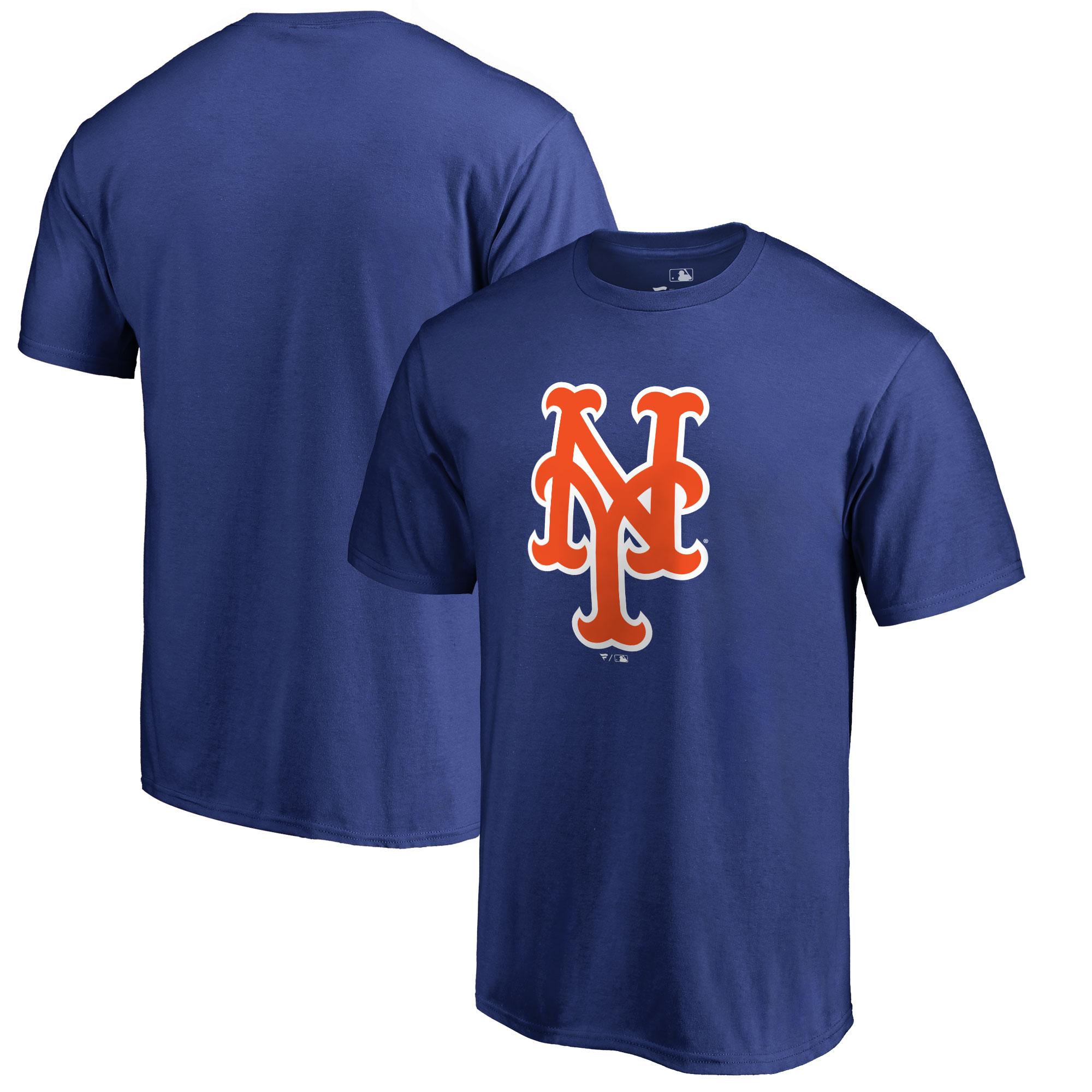New York Mets Big & Tall Primary Team Logo T-Shirt - Blue