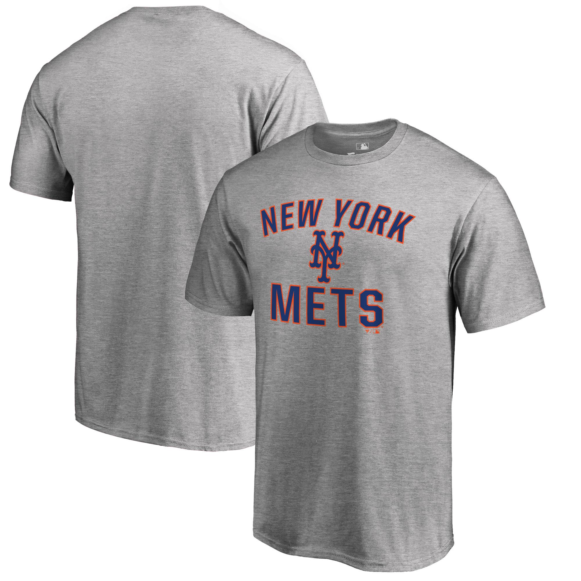 New York Mets Big & Tall Victory Arch T-Shirt - Ash