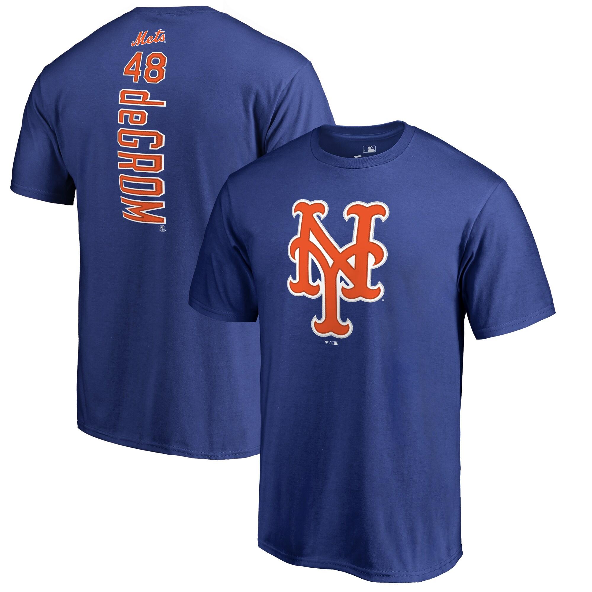 Jacob deGrom New York Mets Backer T-Shirt - Royal
