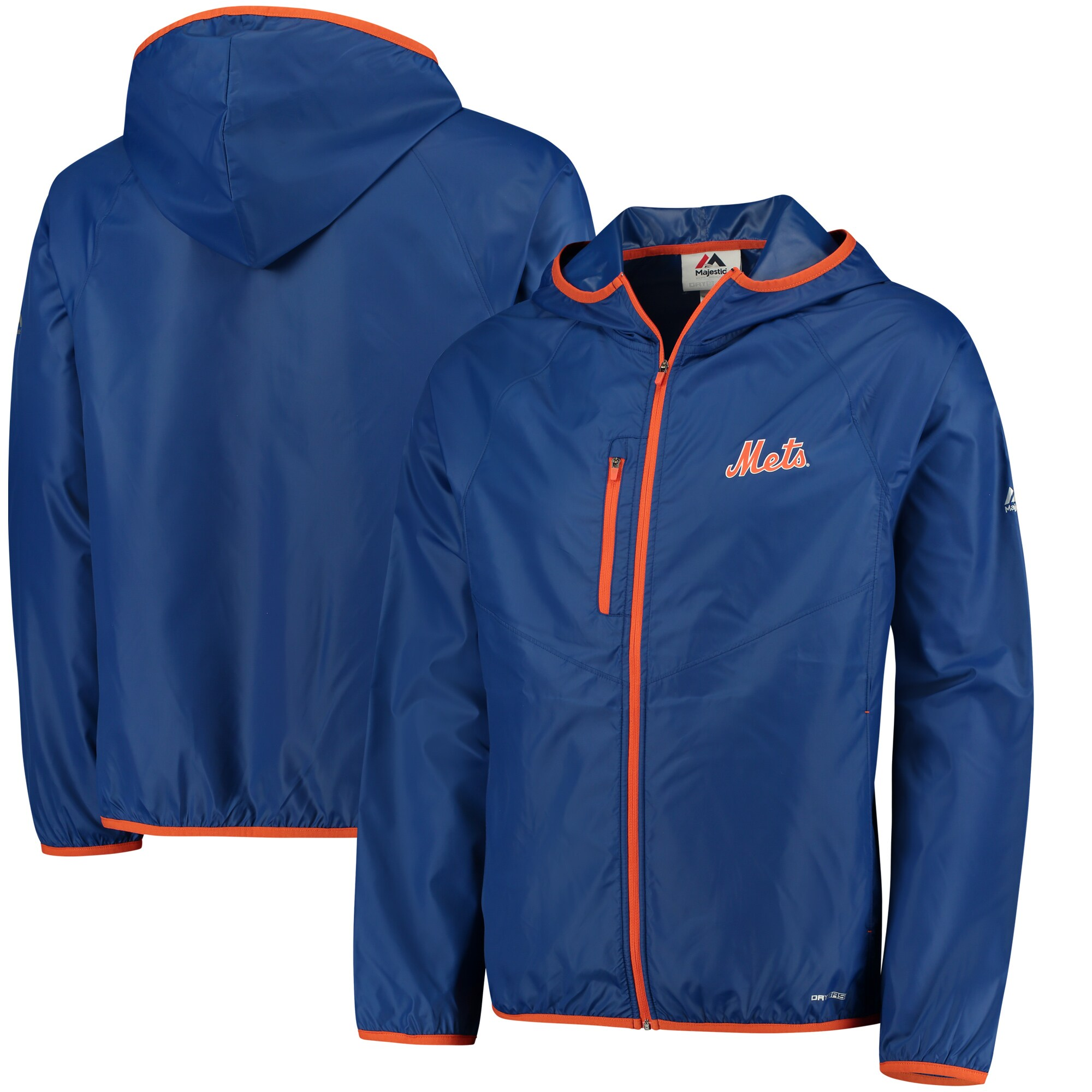New York Mets Majestic Weakness is a Choice Full-Zip Jacket - Royal