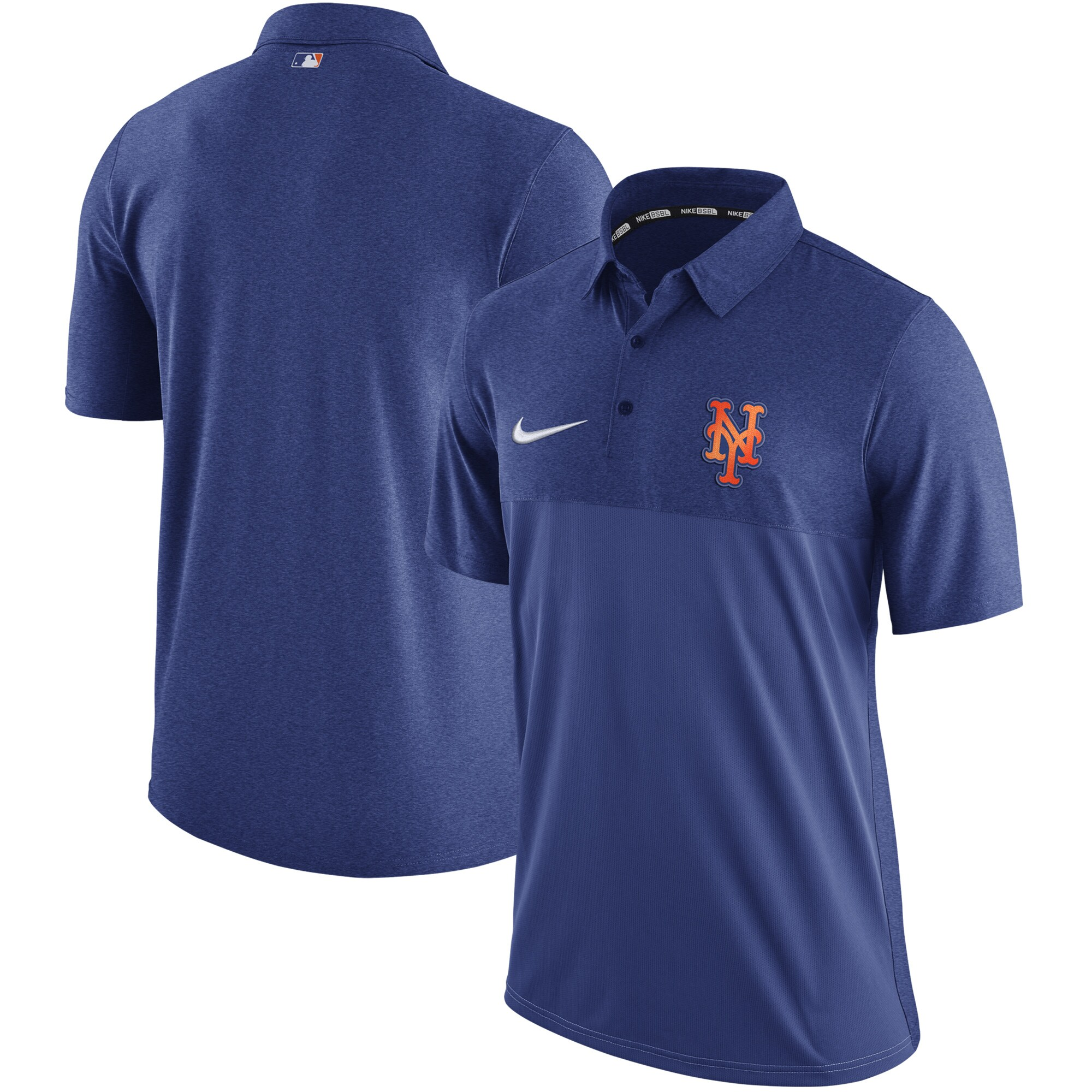 New York Mets Nike Authentic Collection Elite Polo - Royal