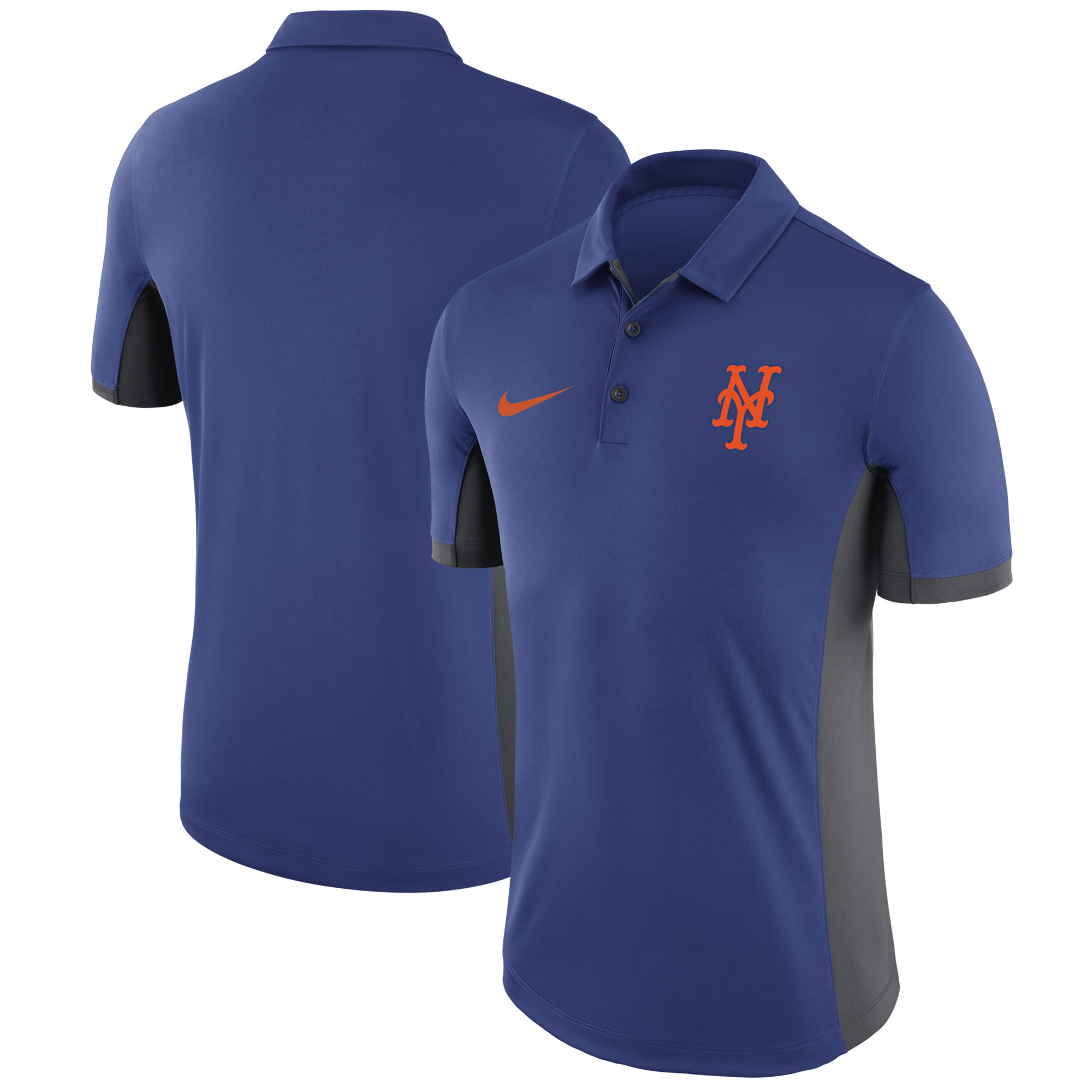New York Mets Nike Franchise Performance Polo - Royal