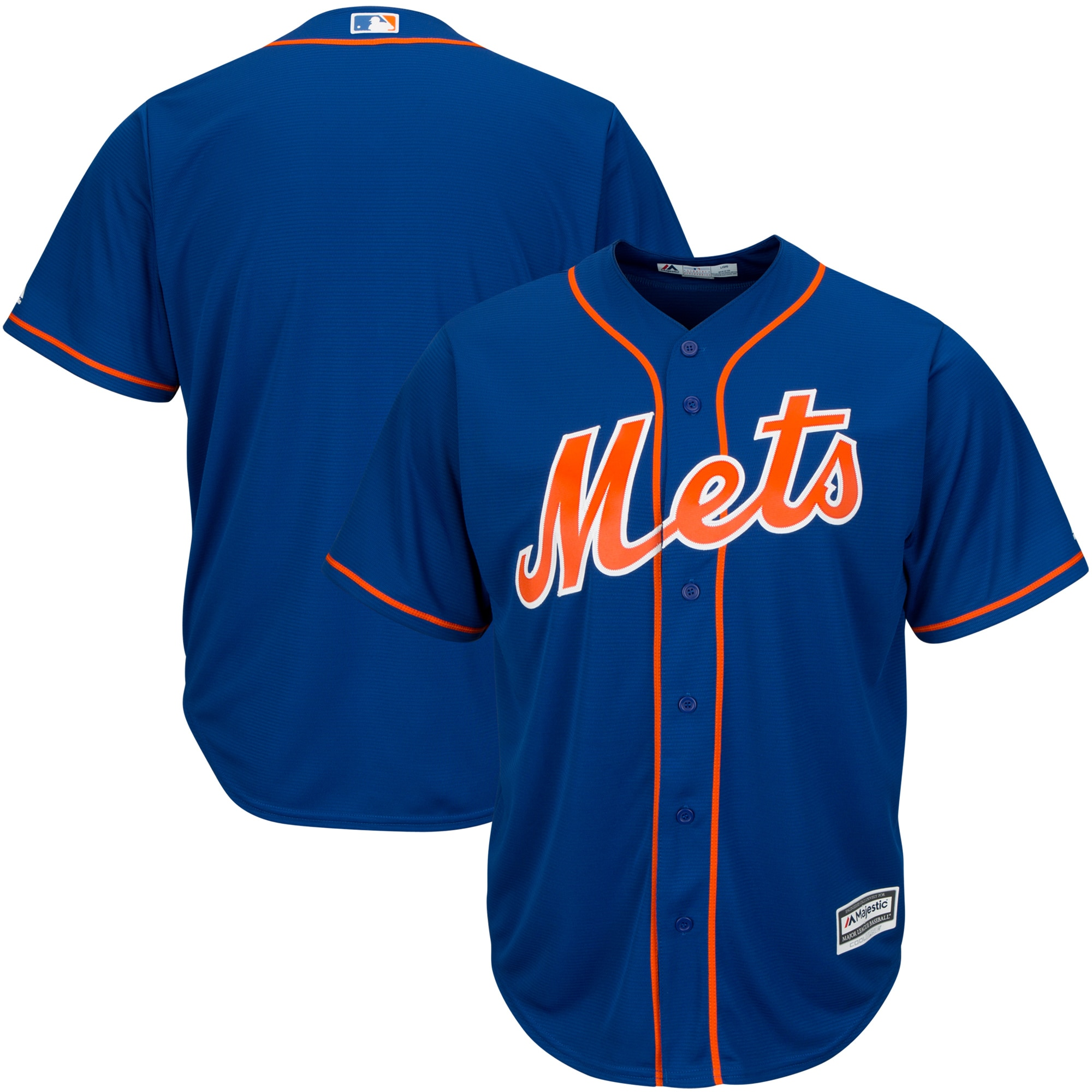 New York Mets Majestic Big & Tall Cool Base Team Jersey - Royal
